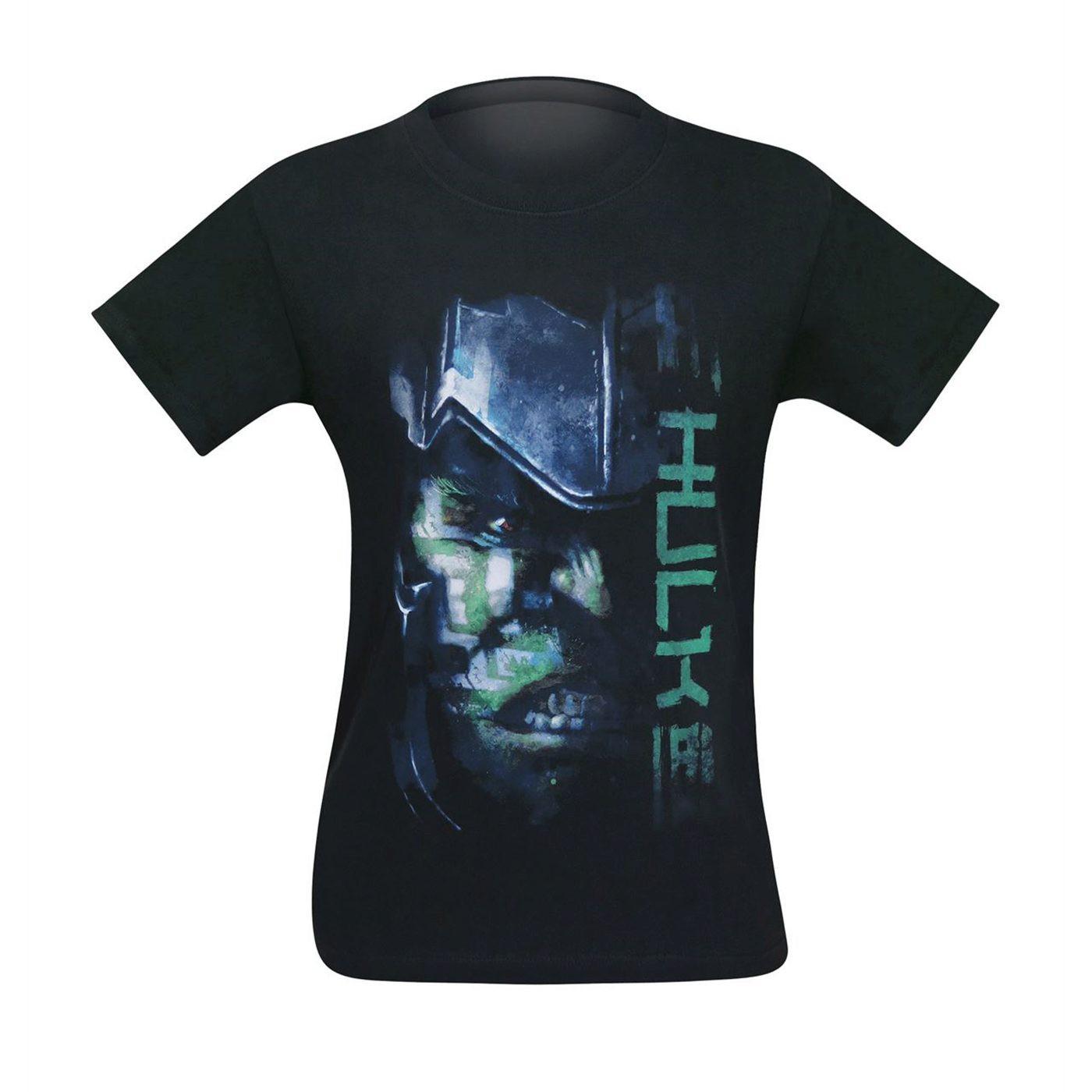 Hulk Thor Ragnarok Battle Face Men's T-Shirt