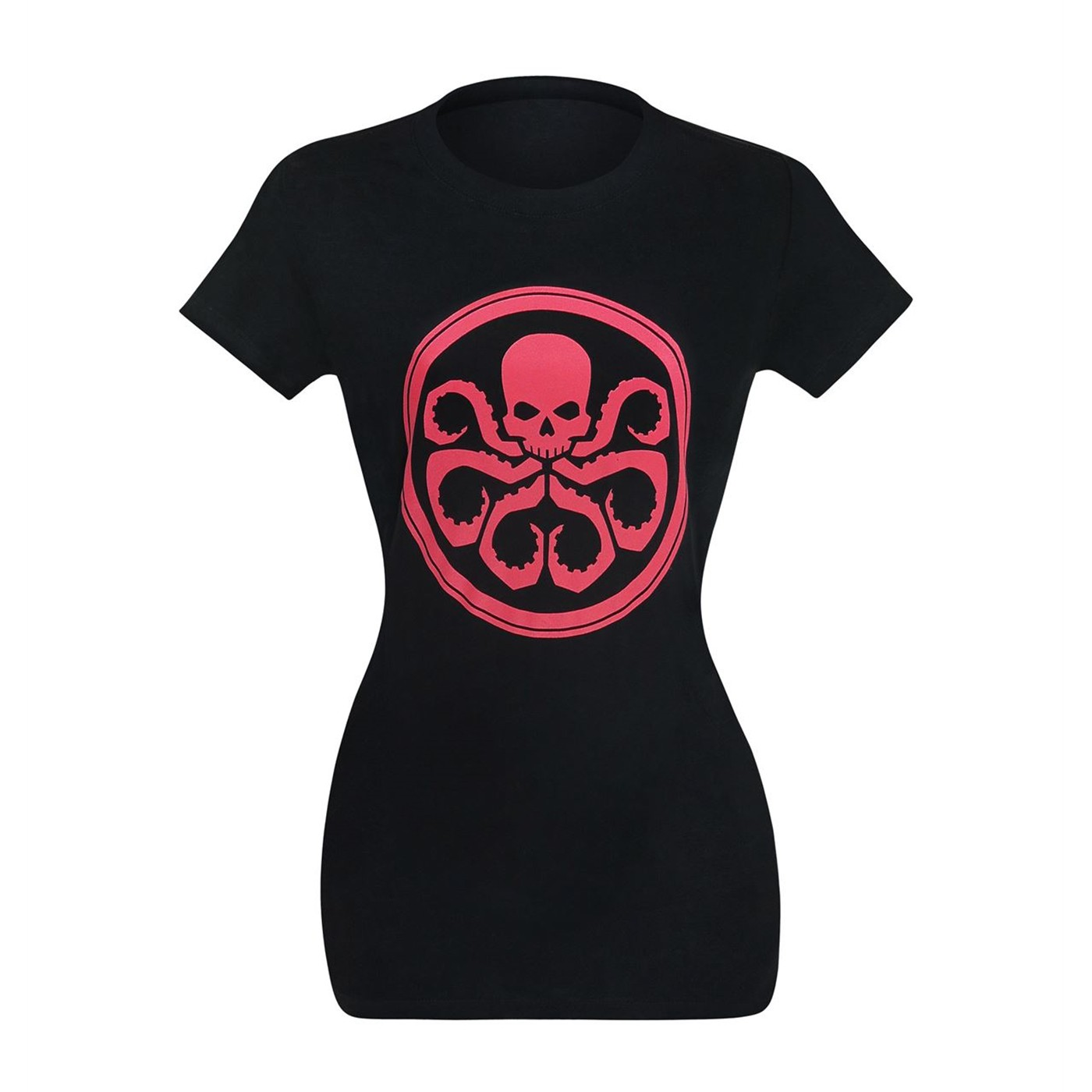 Hydra Symbol on Black Women's T-Shirt