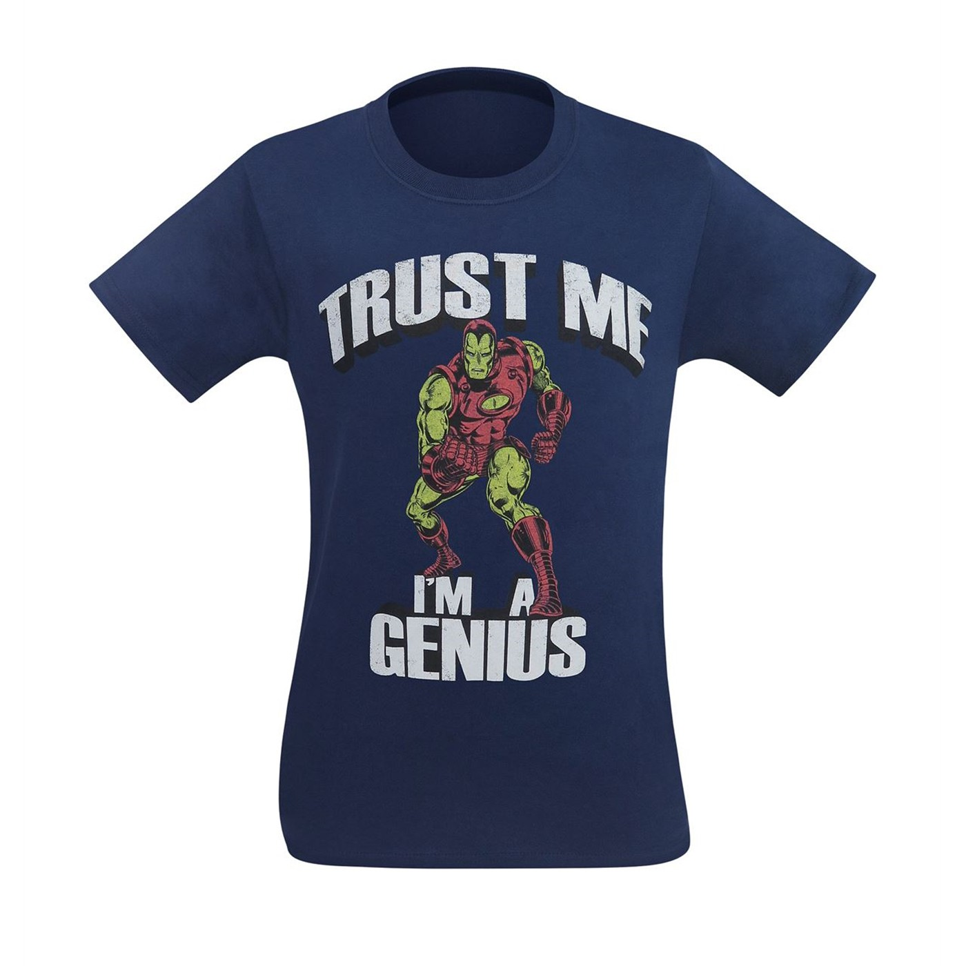 Iron Man Trust Me I'm A Genius Men's T-Shirt