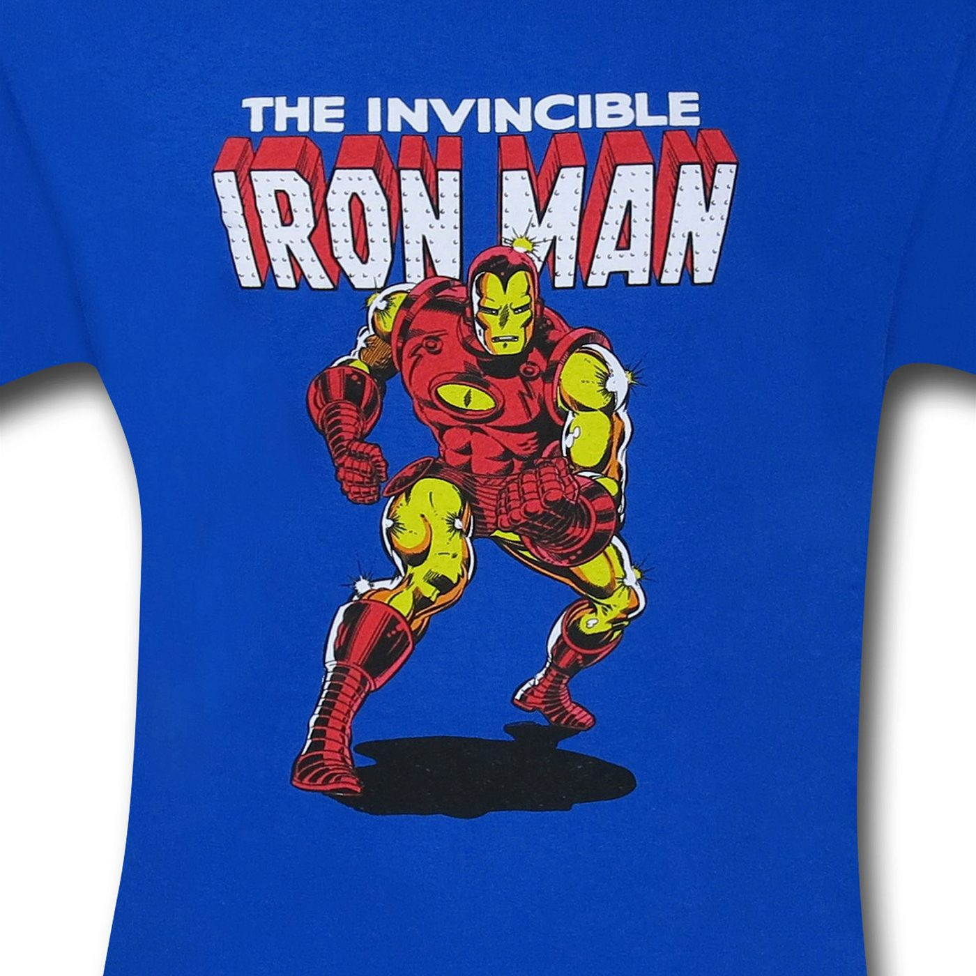 Iron Man Royal Blue Invincible T-Shirt