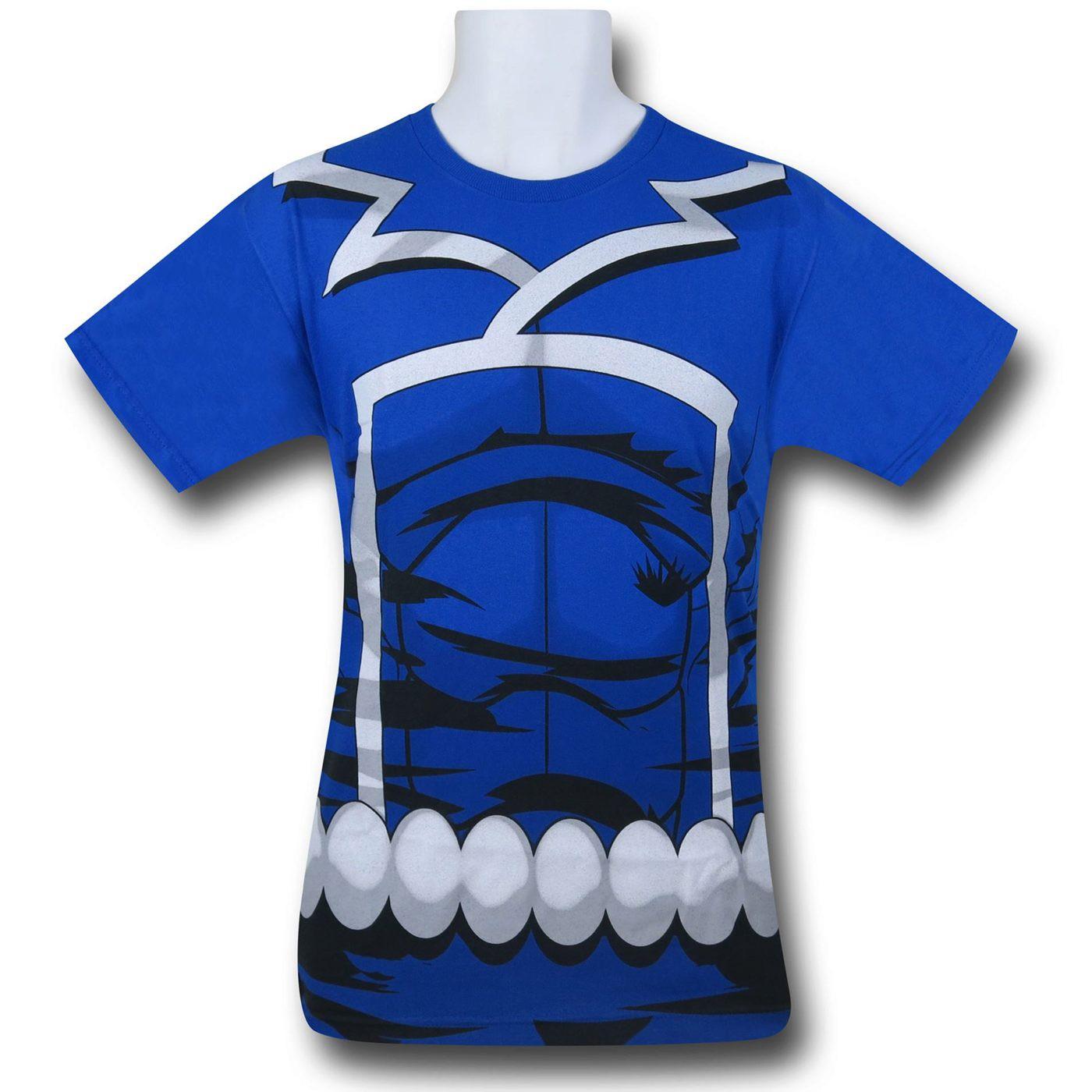 Ghost Rider Classic Johnny Blaze Costume T-Shirt