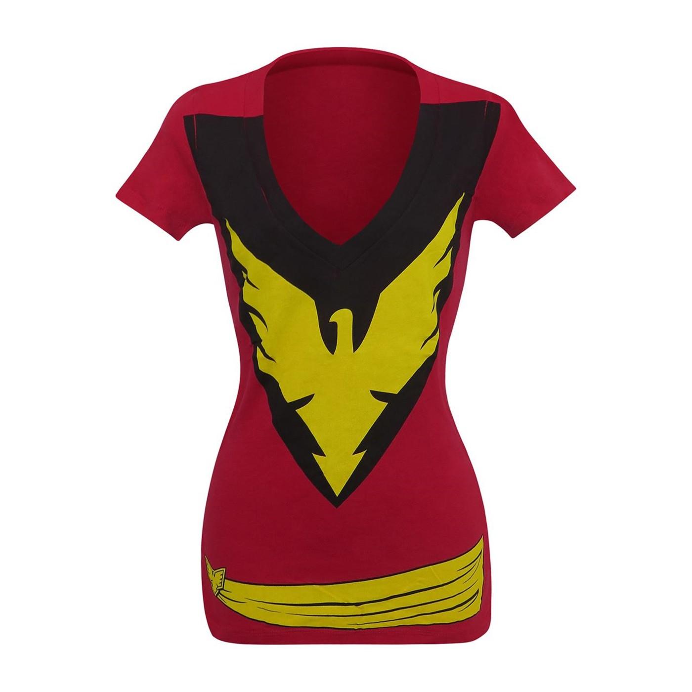 Dark Phoenix Women's Costume T-Shirt