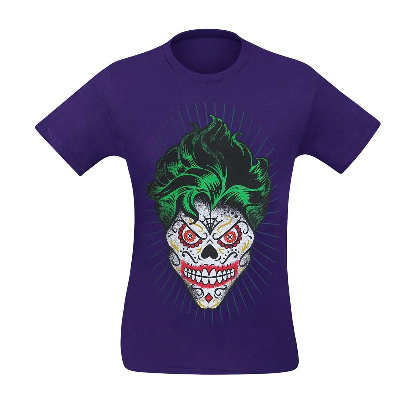 Joker Sugar Skull Men's T-Shirt