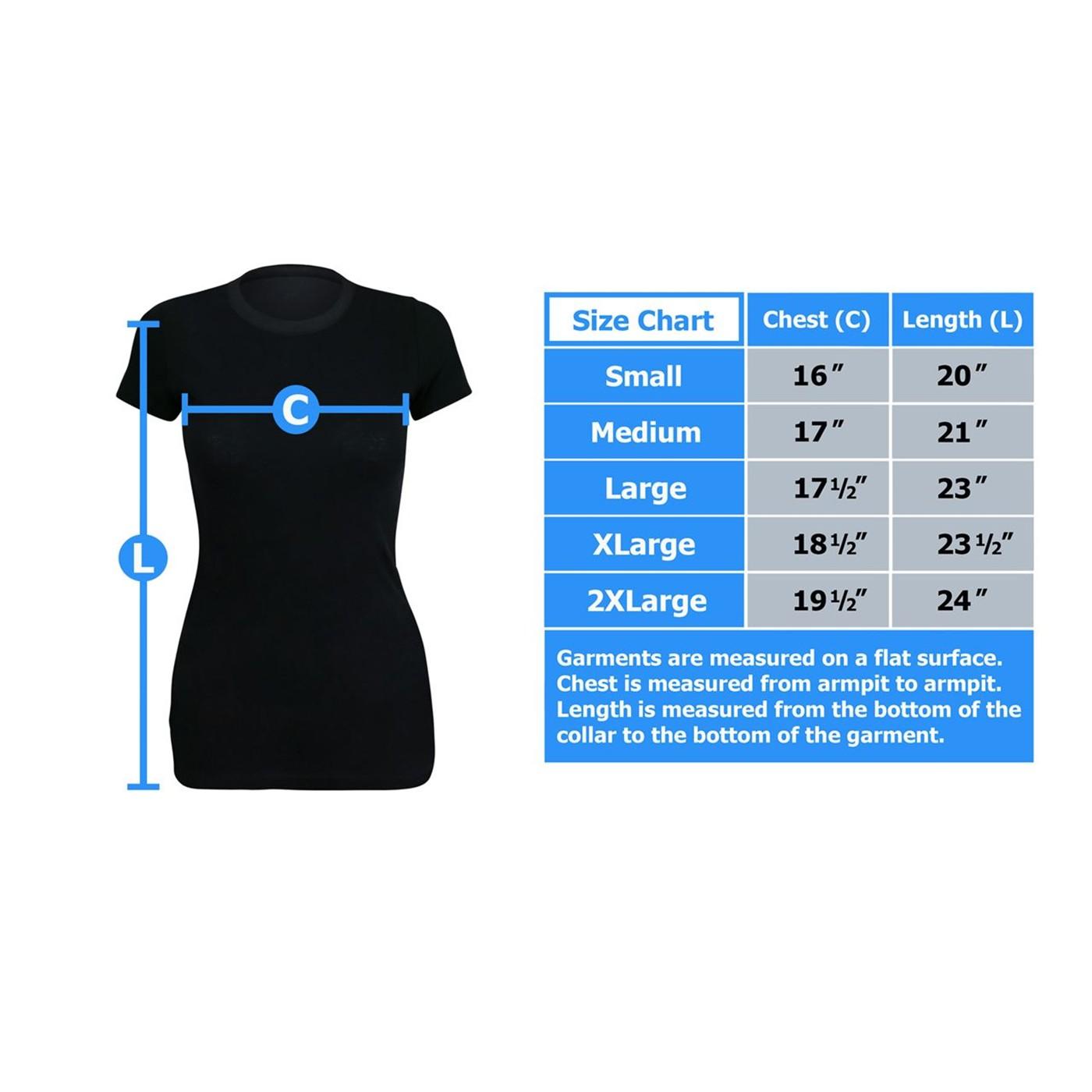 JLA Crisis on Earth Prime Women's T-Shirt