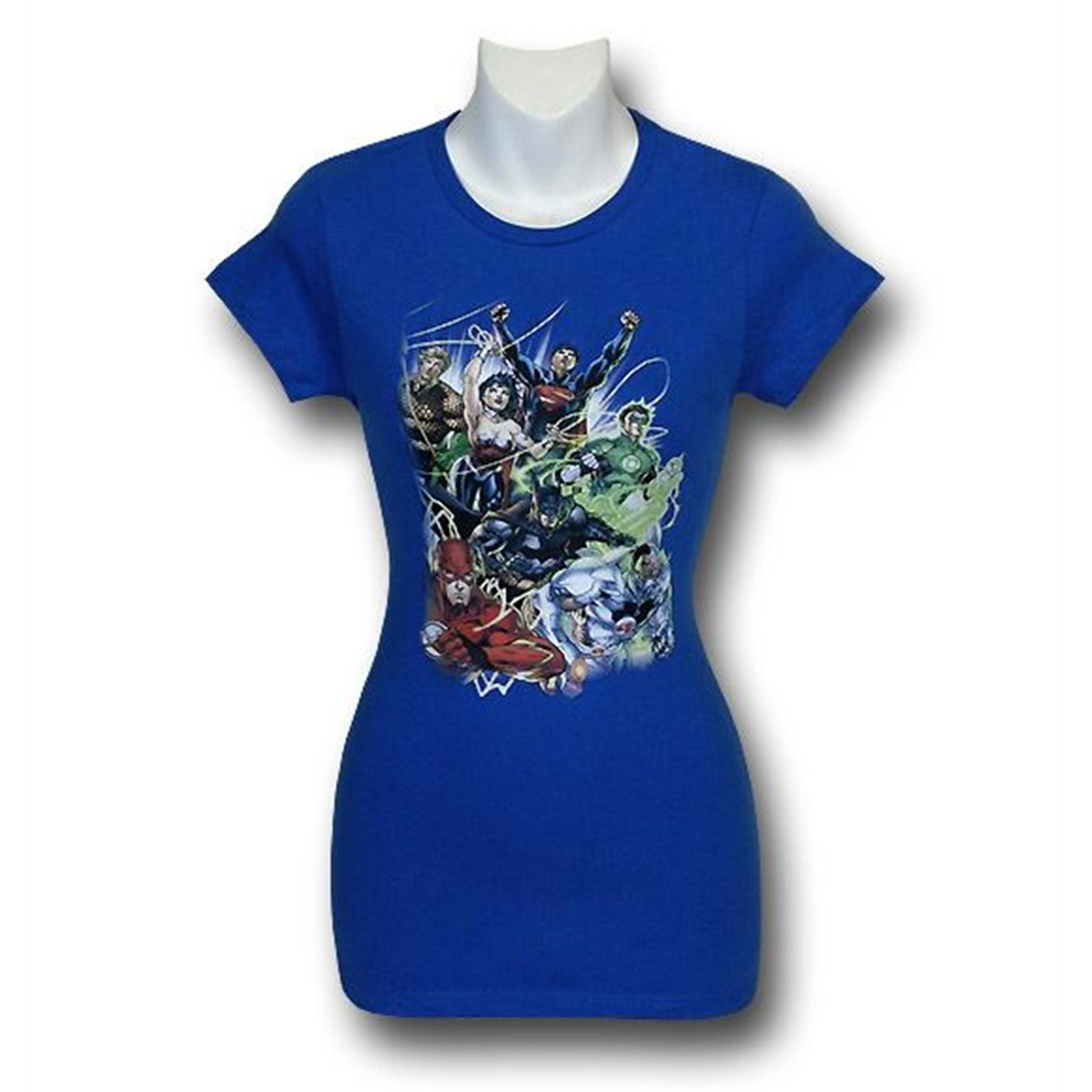 Justice League New 52 No. 1 Women's T-Shirt