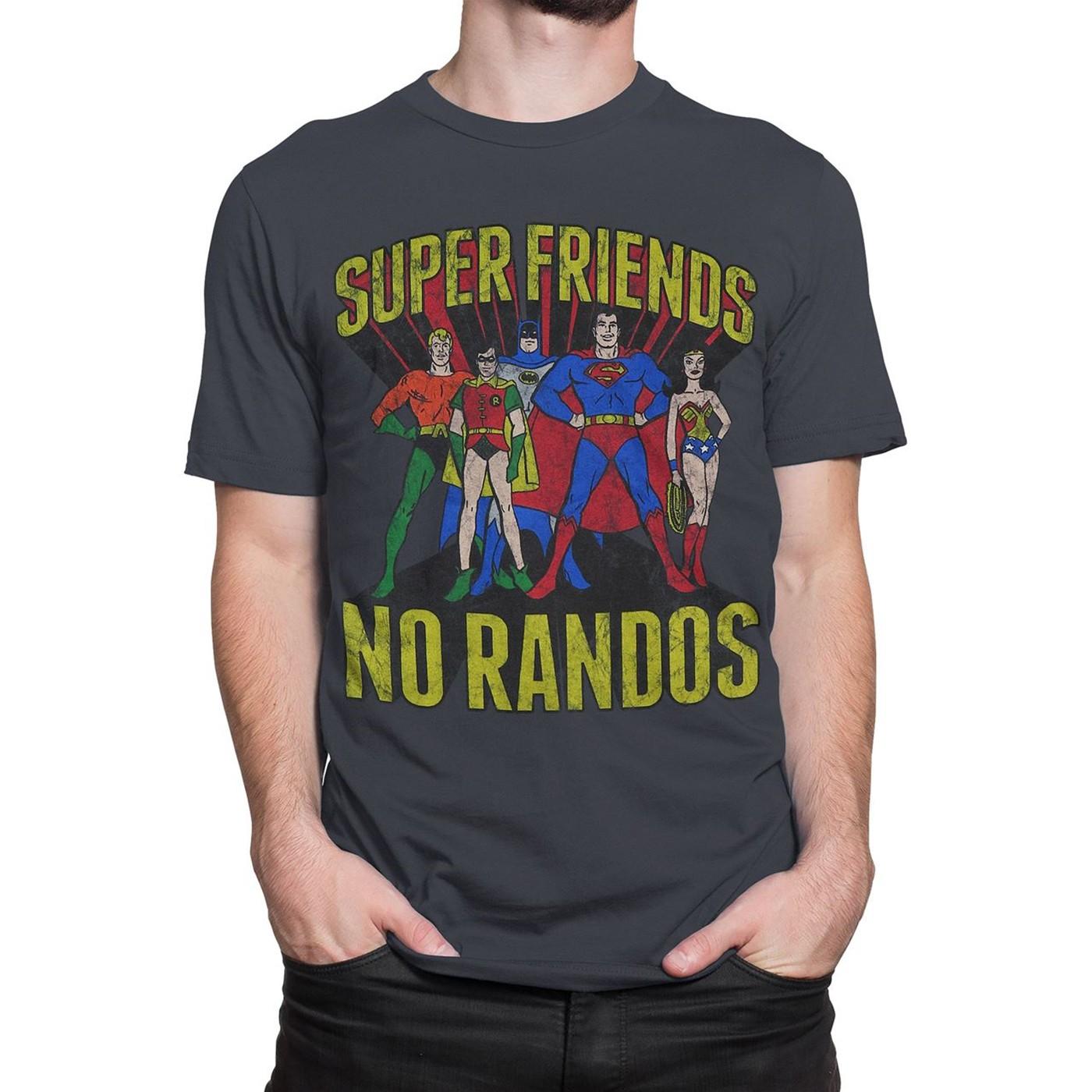 Super Friends No Randos Men's T-Shirt