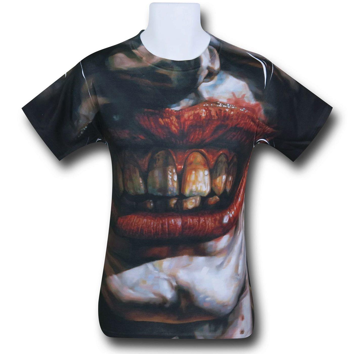 Joker Asylum Sublimated T-Shirt