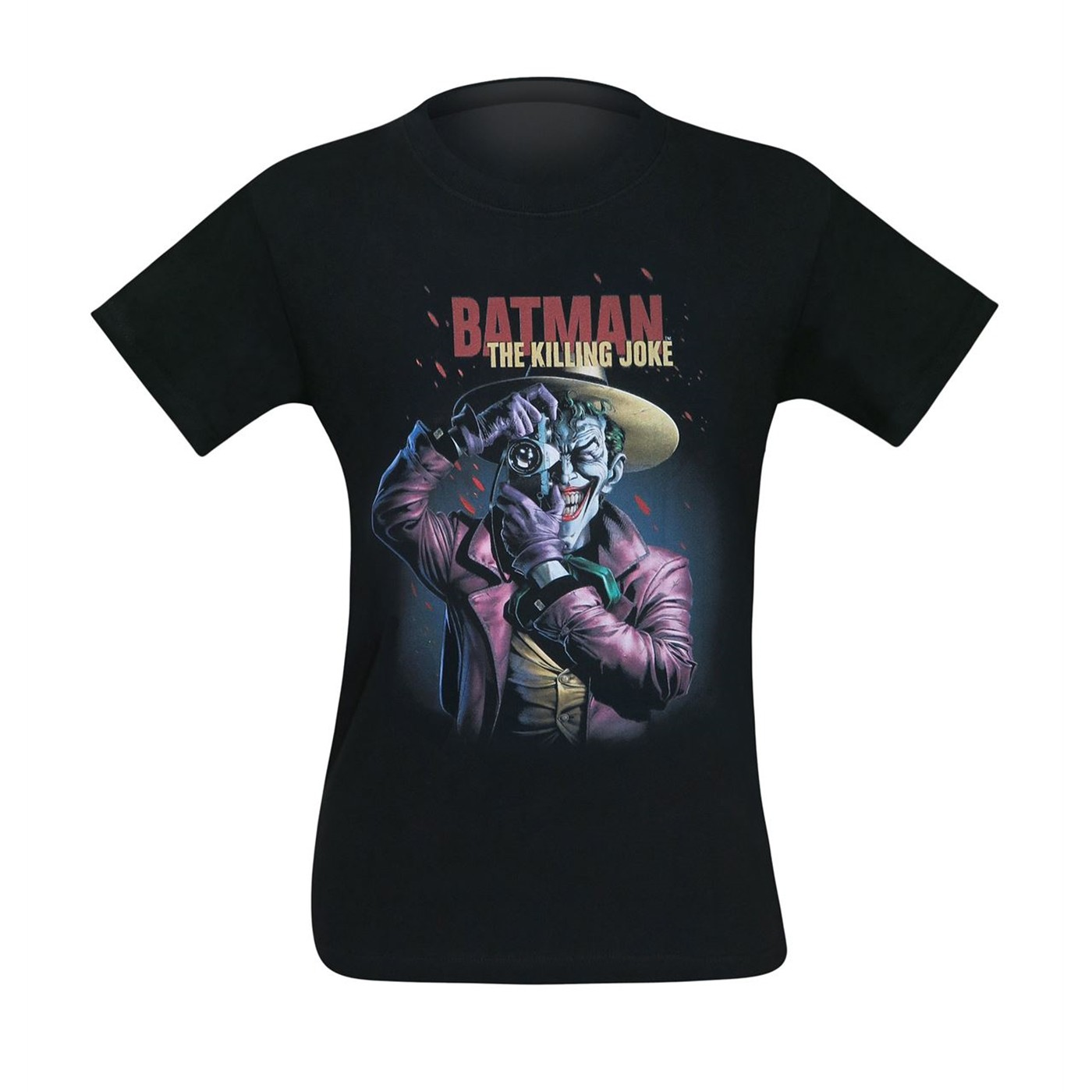 The Joker The Killing Joke Smile Poster Men's T-Shirt