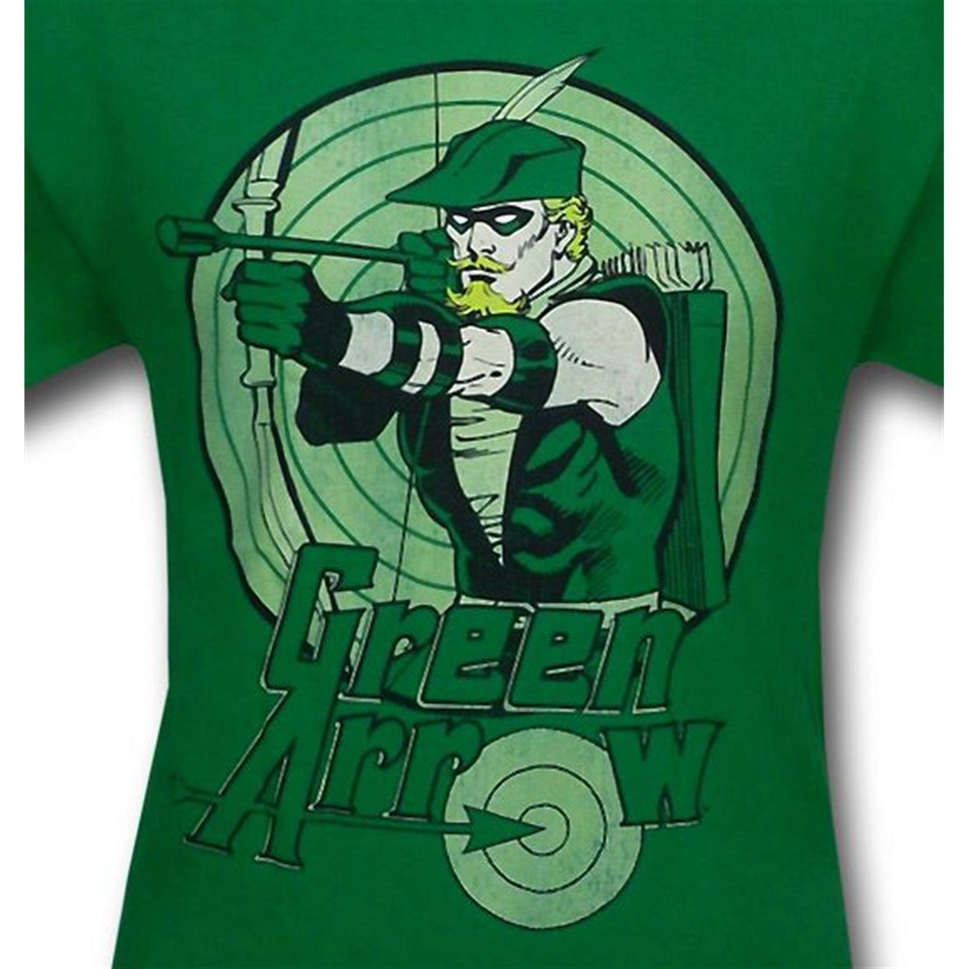 Green Arrow Kids Bullseye Kelly T-Shirt