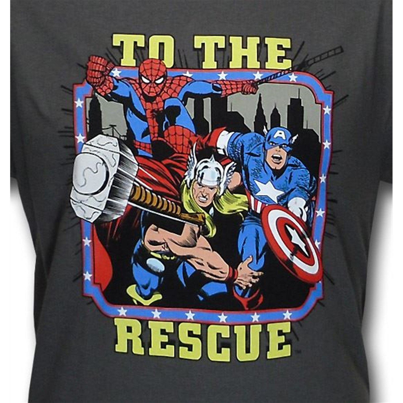 Avengers Kids To the Rescue T-Shirt