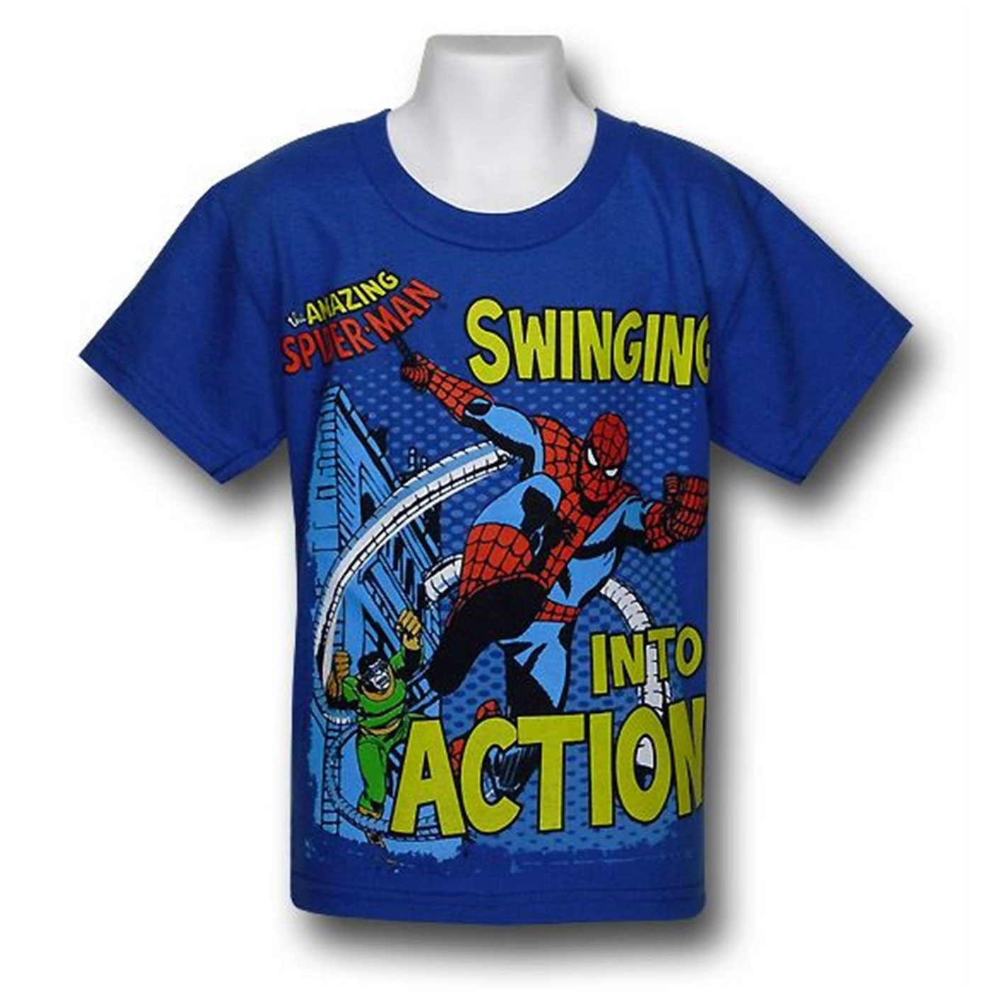 Spiderman Kids Swing to Action T-Shirt
