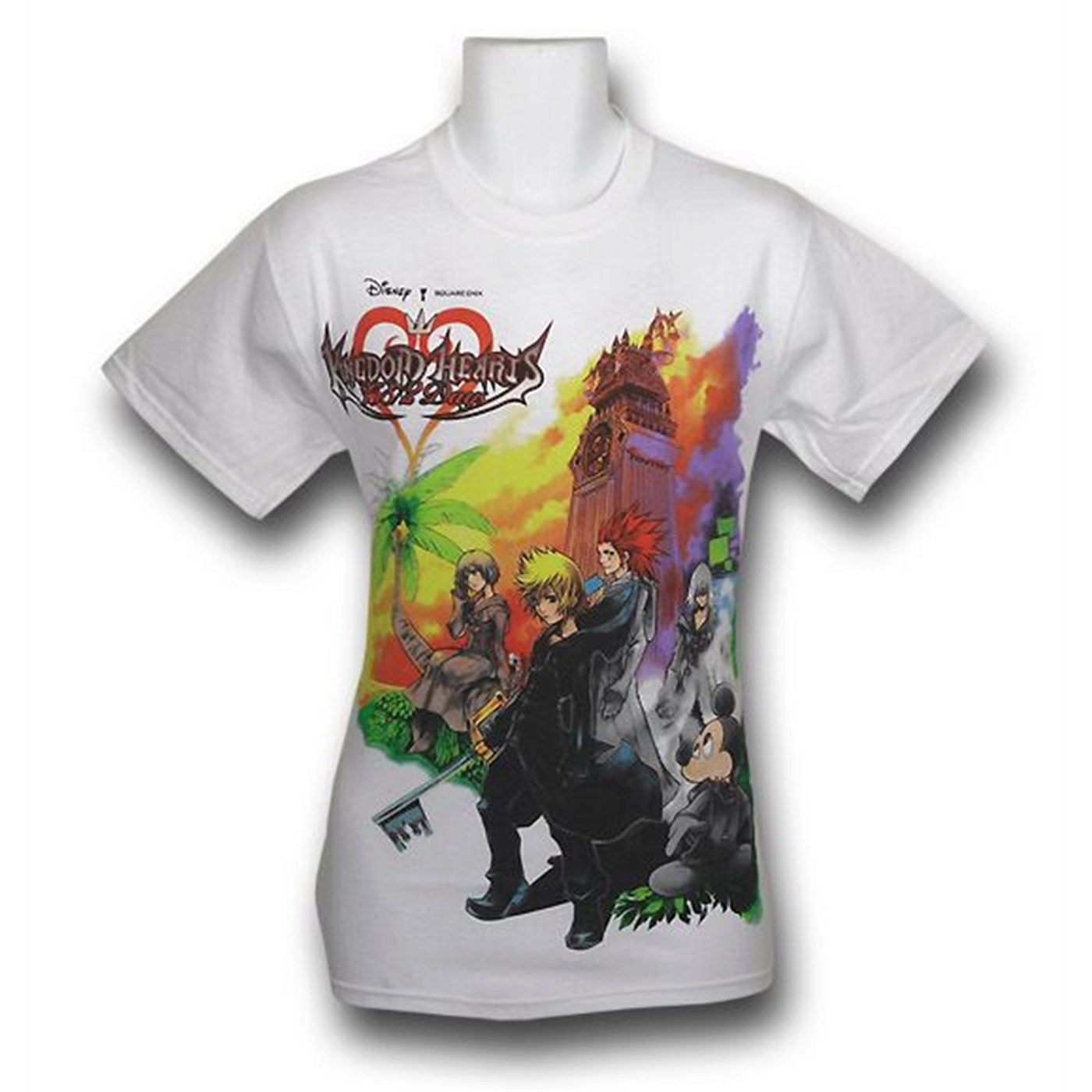 Kindom Hearts Group Cover T-Shirt