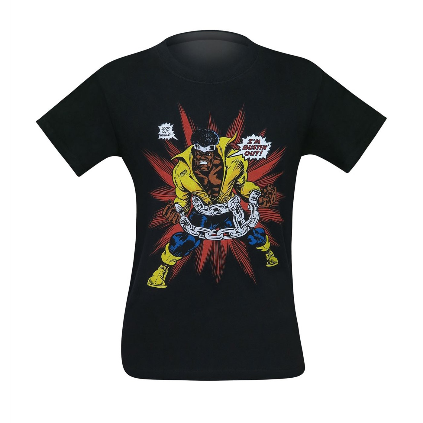 Luke Cage I'm Bustin' Out Bio Men's T-Shirt