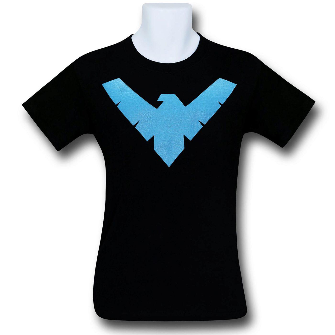 Nightwing Symbol Youth T-Shirt