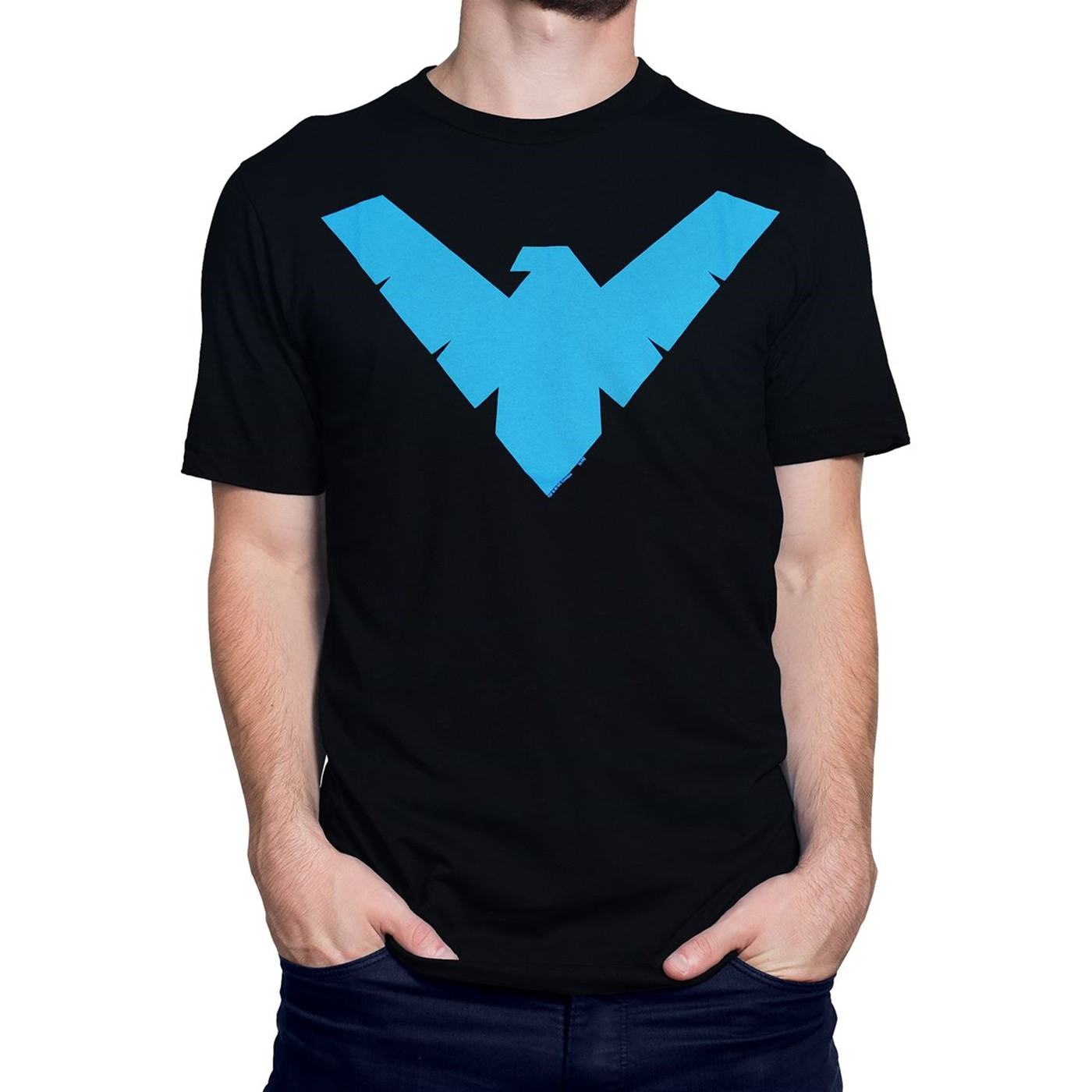 57d34261833aa Batman Nightwing T-Shirt