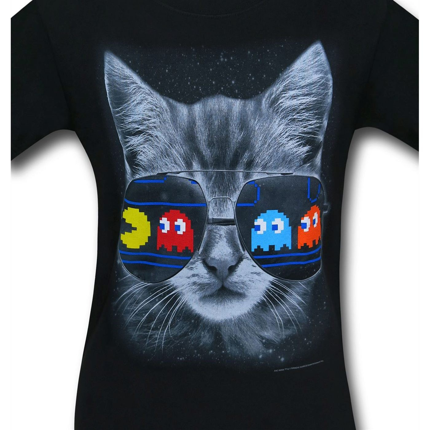 Pac Man Shades Kitty Men's T-Shirt