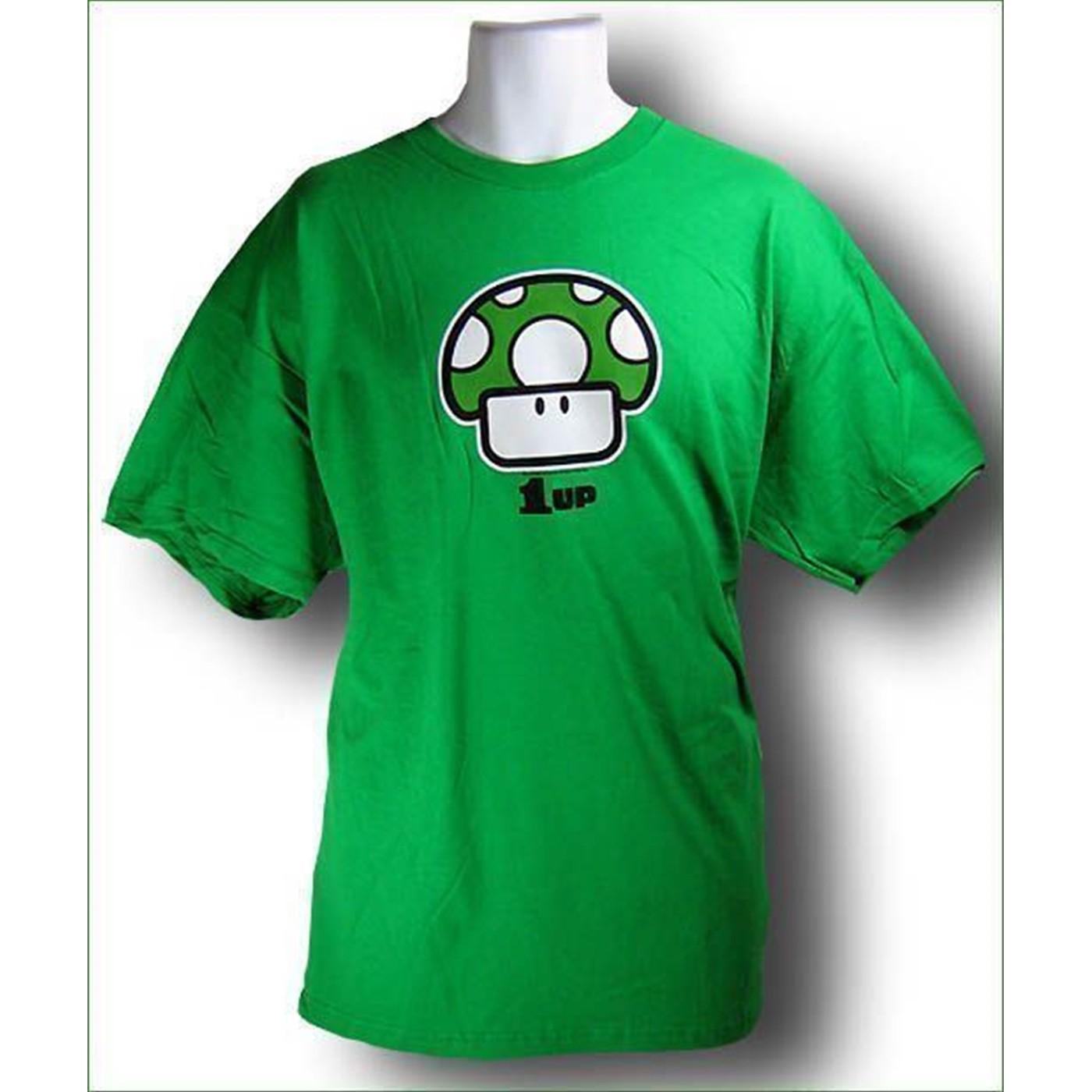 Nintendo 1 Up Mushroom T-Shirt