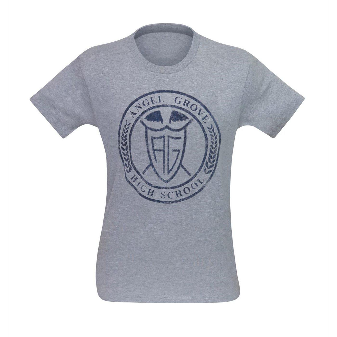 Power Rangers Angel Grove High Men's T-Shirt