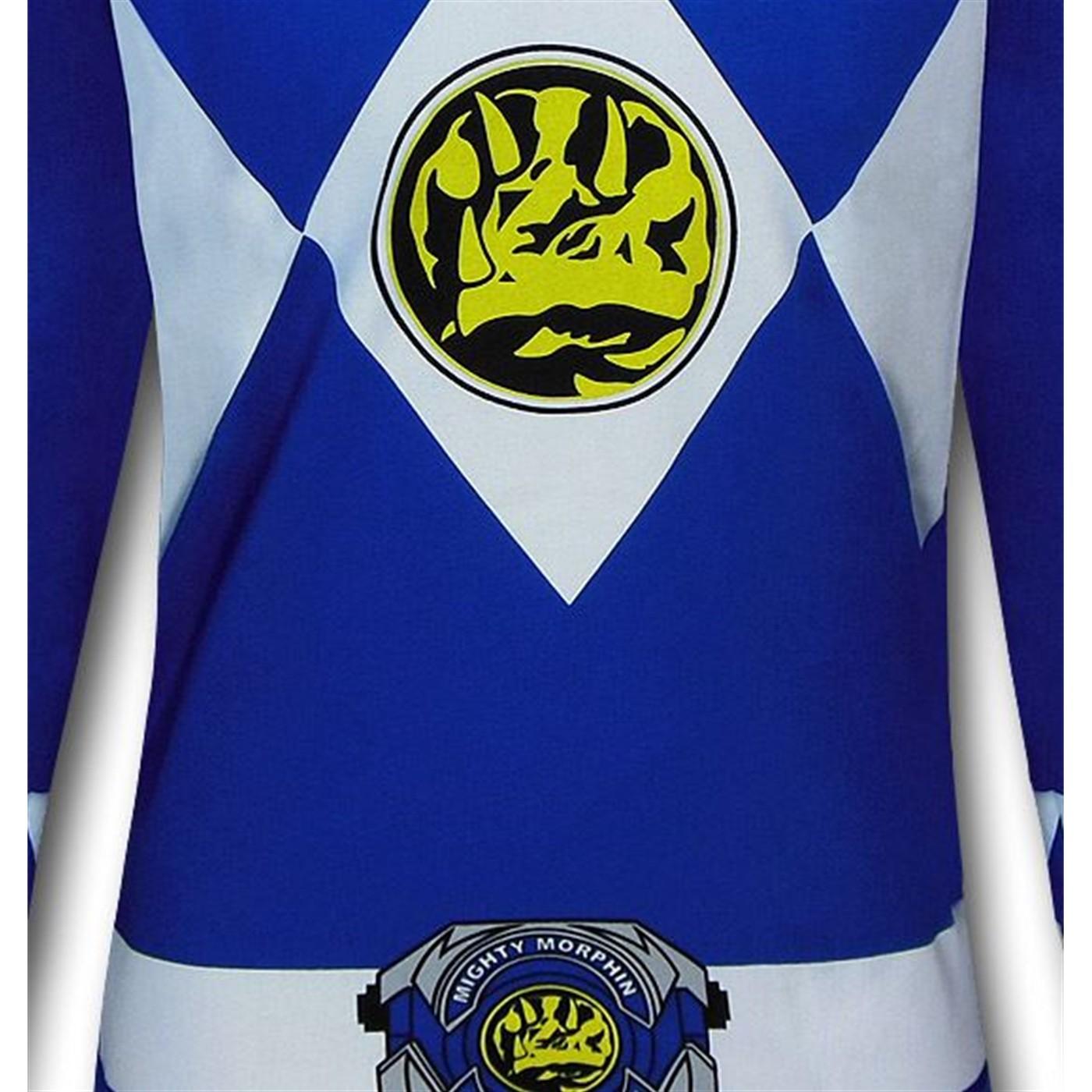 Power Ranger Blue Ranger Long-Sleeve T-Shirt