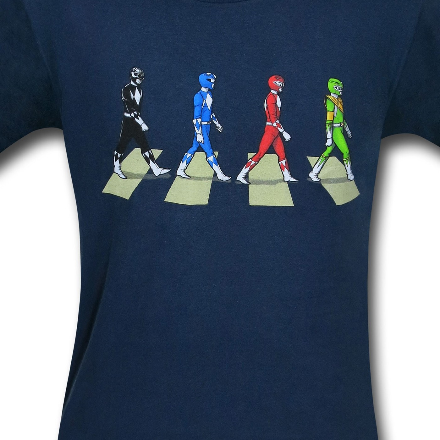 Power Ranger Road 30 Single T-Shirt