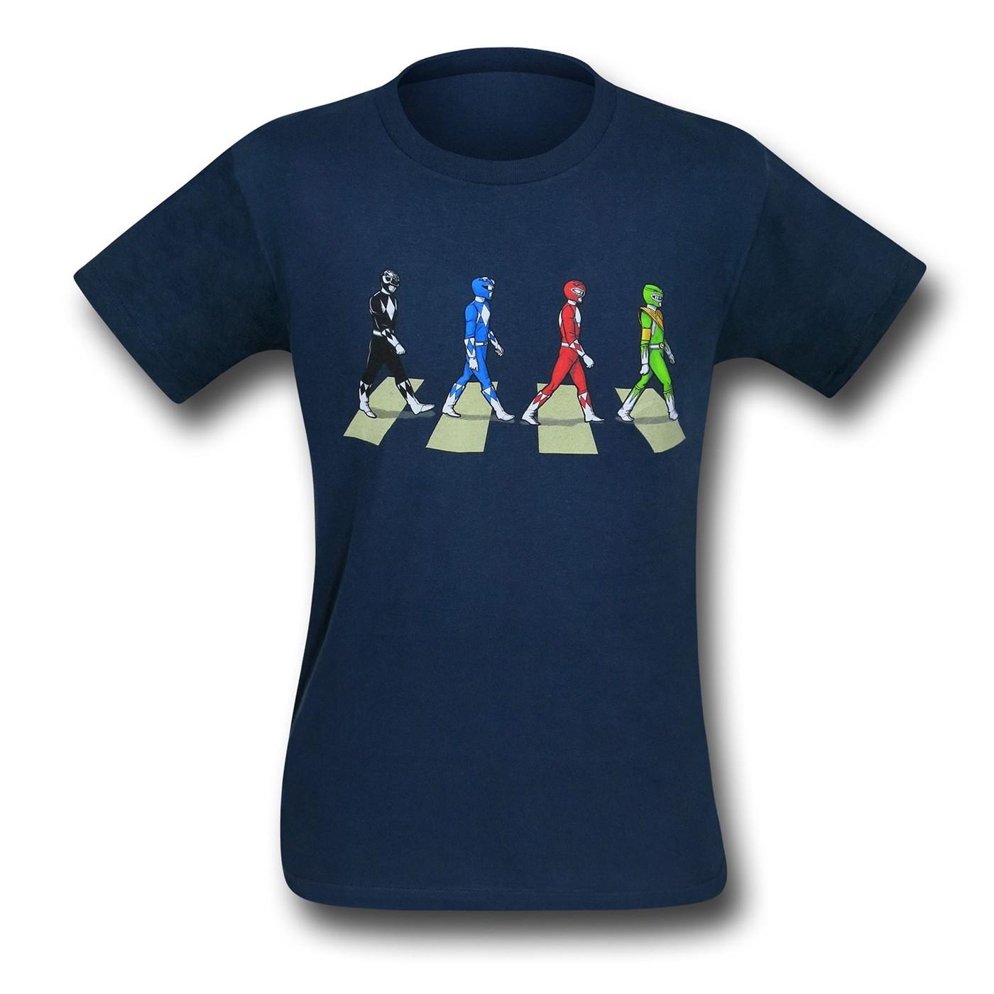 Power Ranger Road 30 Single T-Shirt
