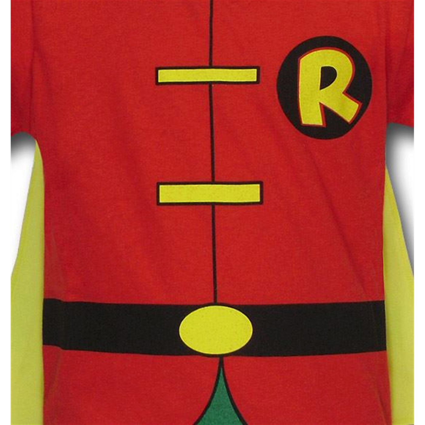 Robin Kids Costume Caped T-Shirt