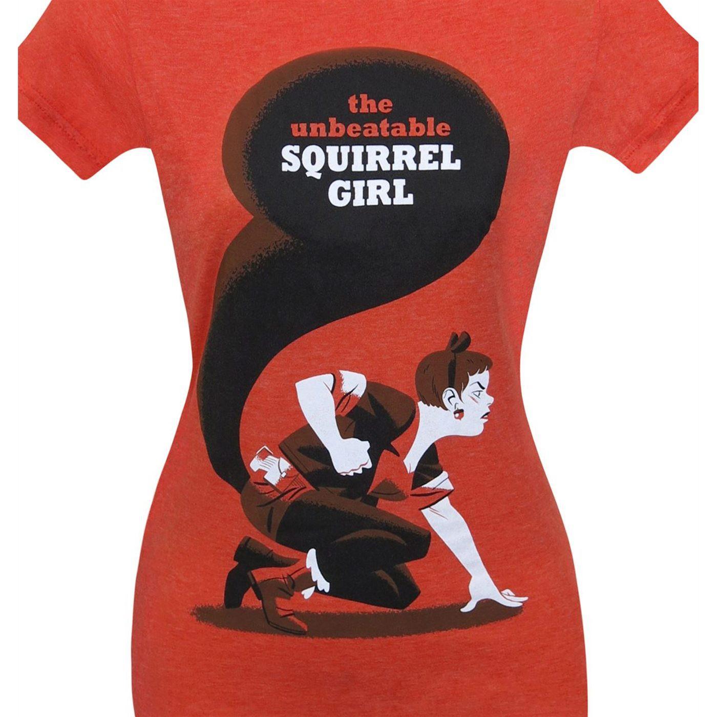Squirrel Girl Unbeatable Women's T-Shirt