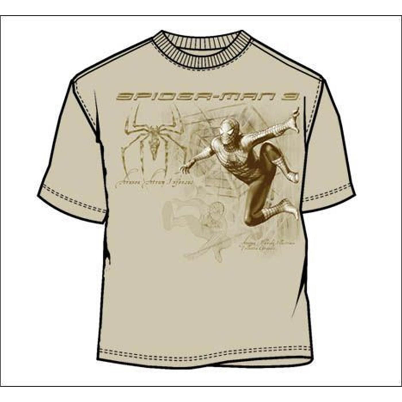 Spiderman Code Stencil T-Sshirt