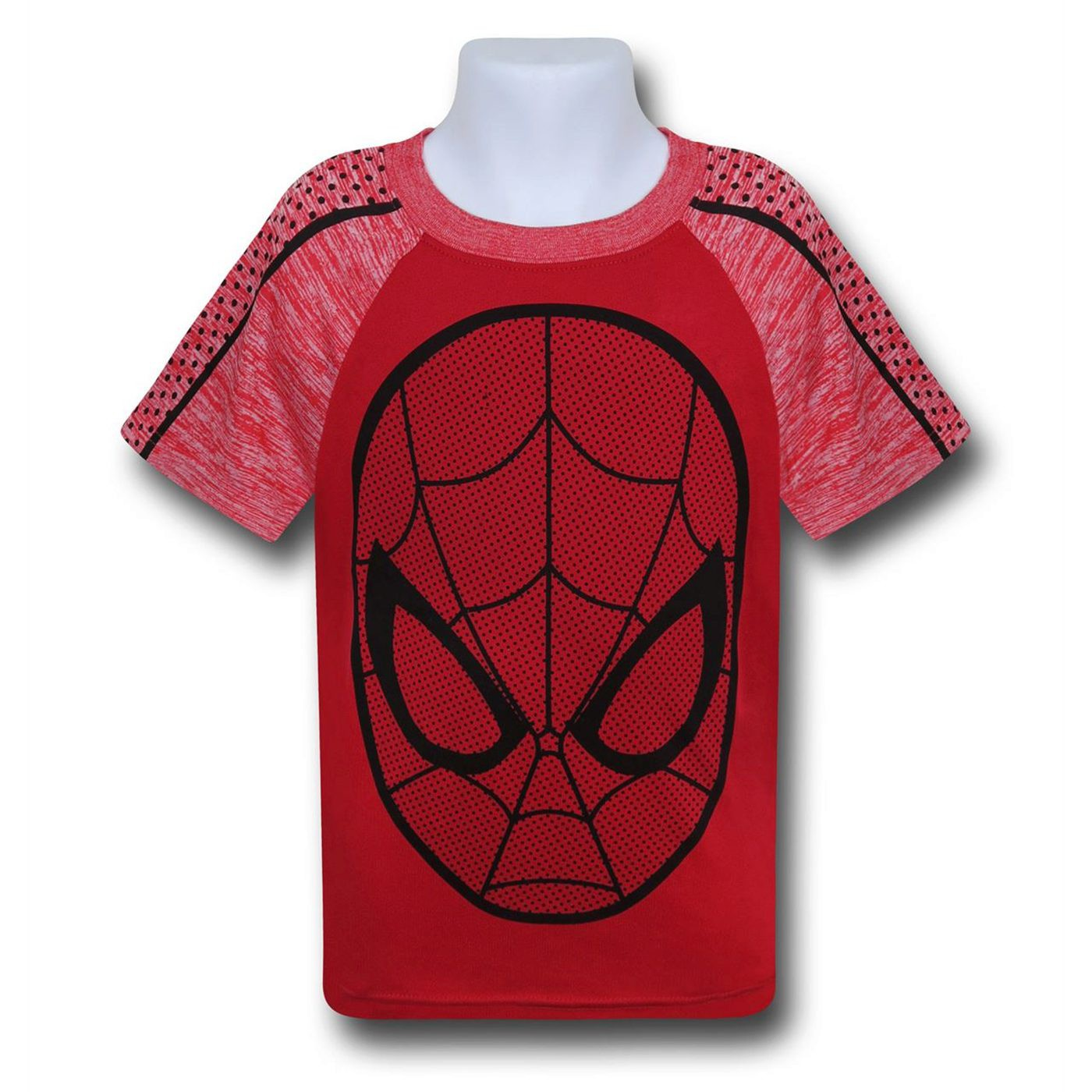 Spiderman Web Head Space Dye T-Shirt