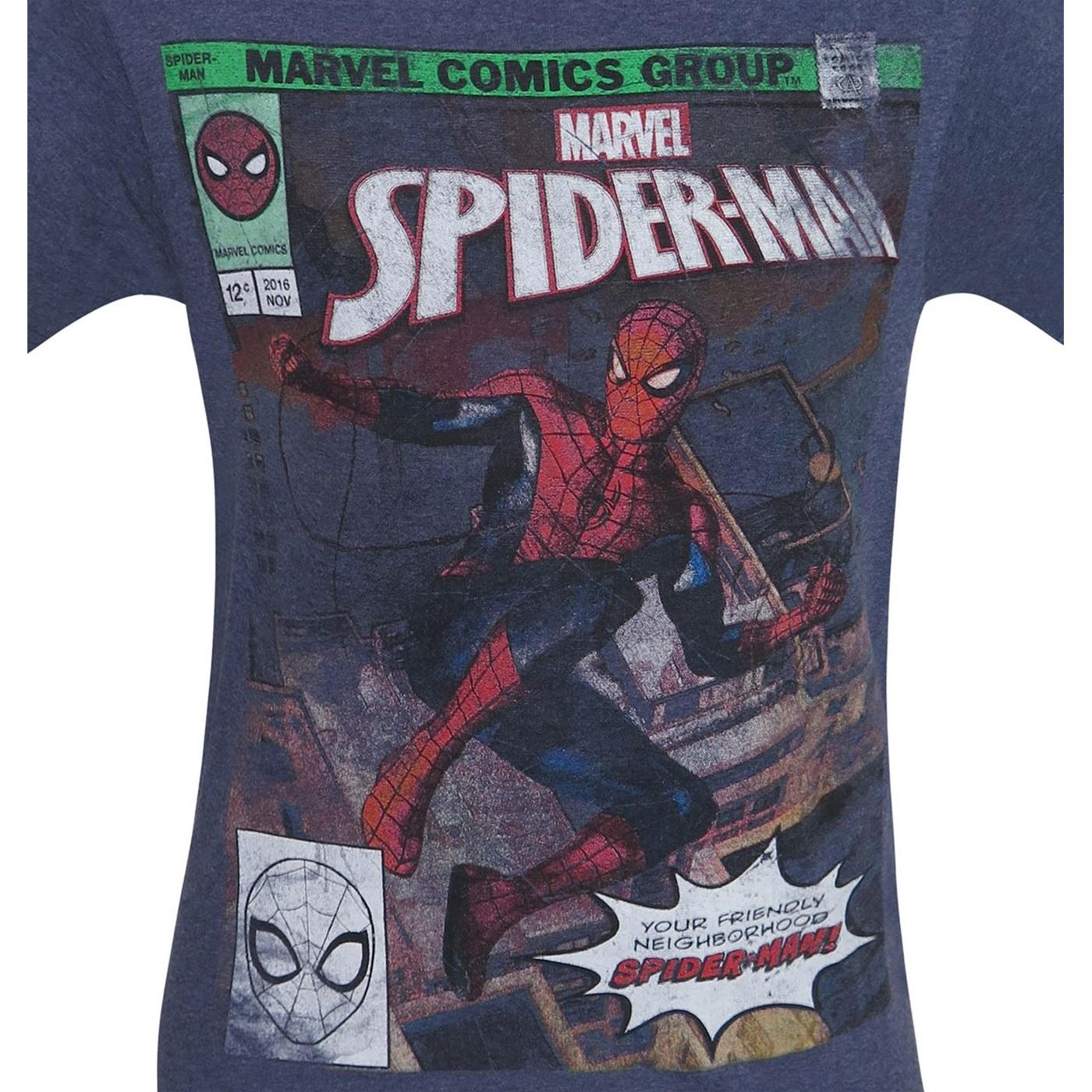 Spider-Man Friendly Neighborhood Hero Men's T-Shirt