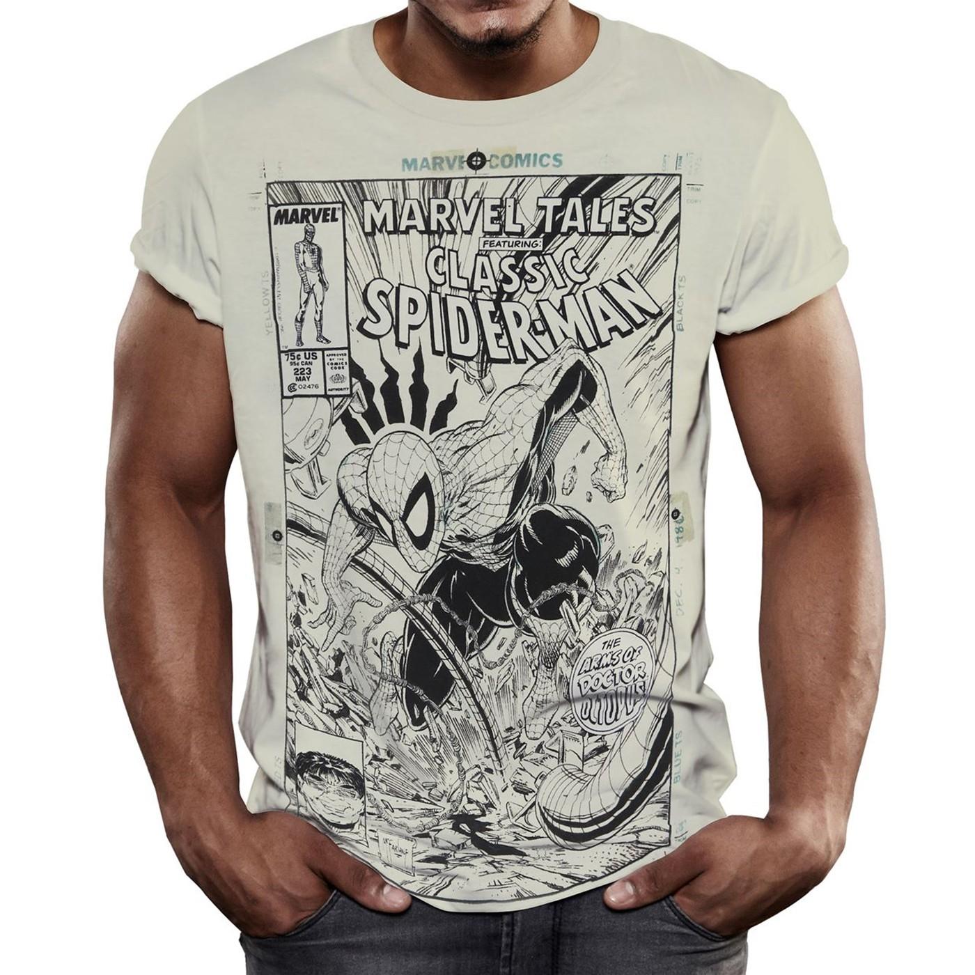 Classic Spider-Man Marvel Tales Men's T-Shirt