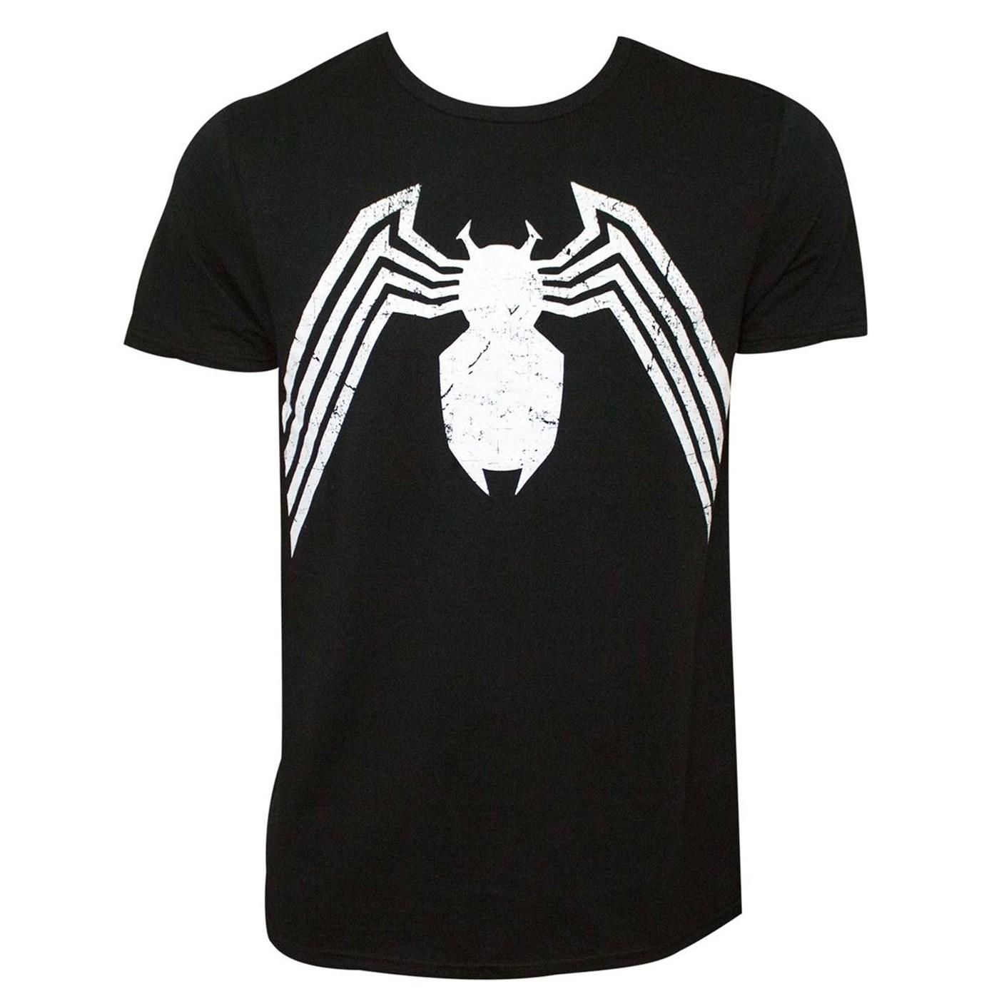 Spider-Man Symbiote Costume Symbol Men's T-Shirt