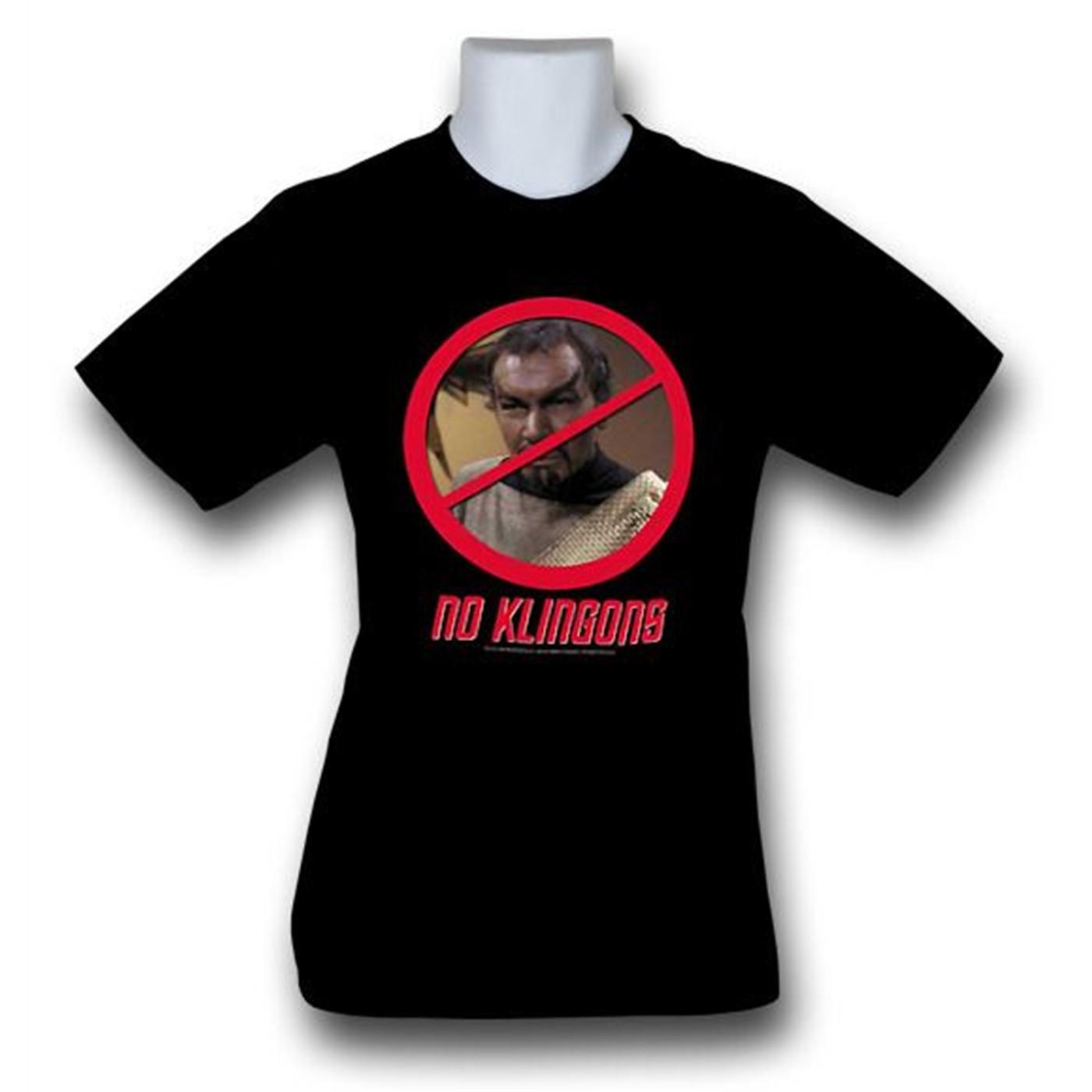 Star Trek No Klingons T-Shirt