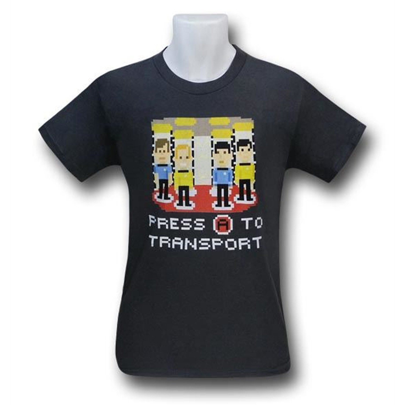 Star Trek Pixel Transport T-Shirt