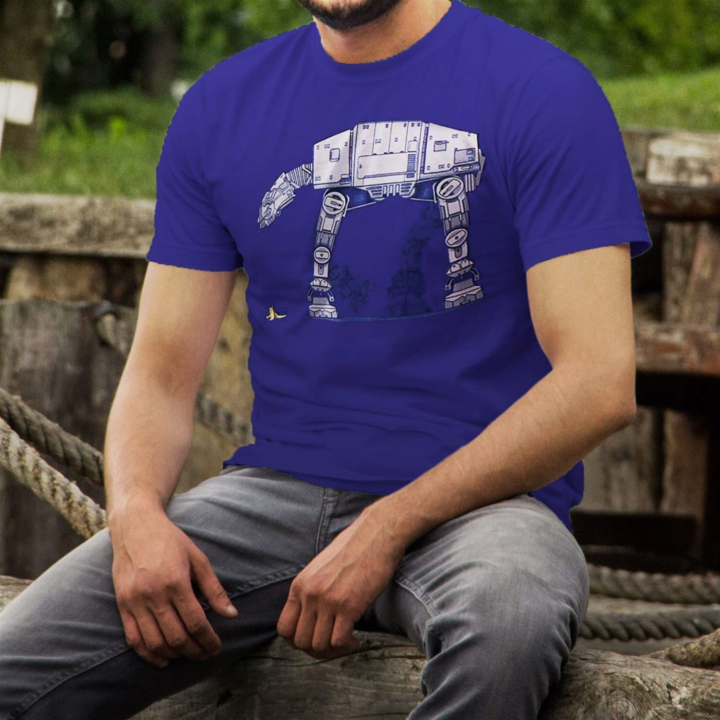 Star Wars Banana Peel Trap 30 Single T-Shirt