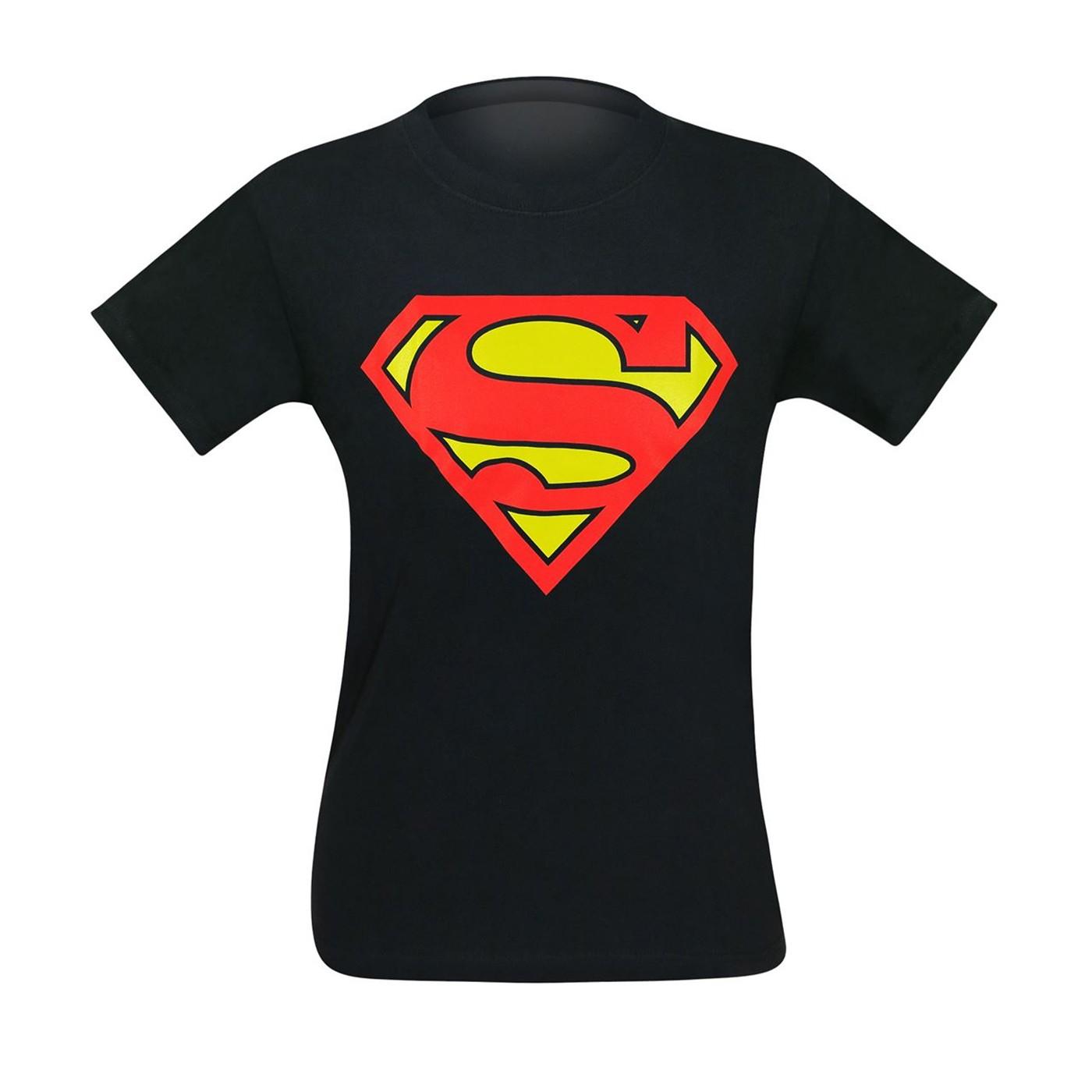 Superman III Black T-Shirt