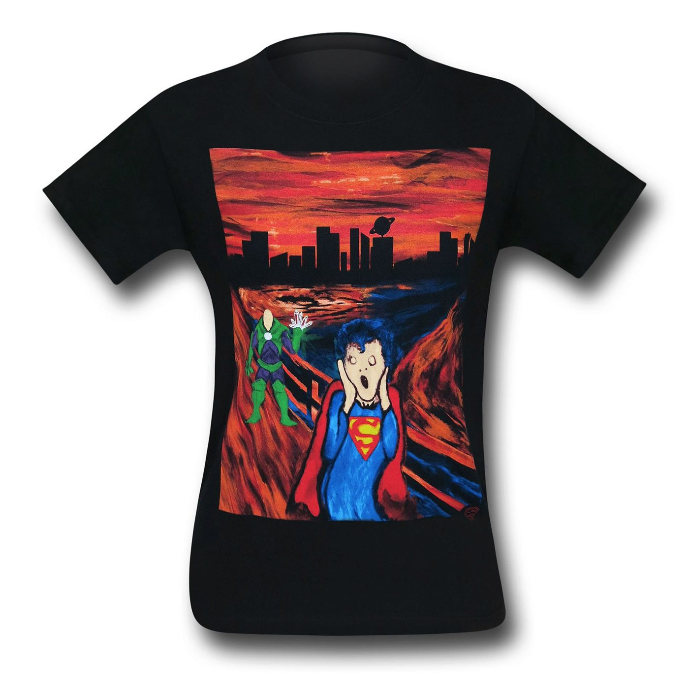 Superman The Scream T-Shirt