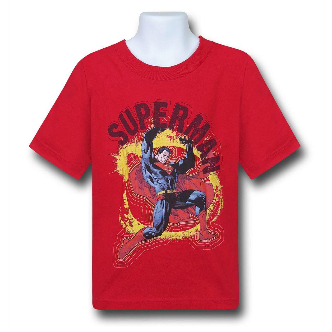 Superman Super-Strength Kids T-Shirt