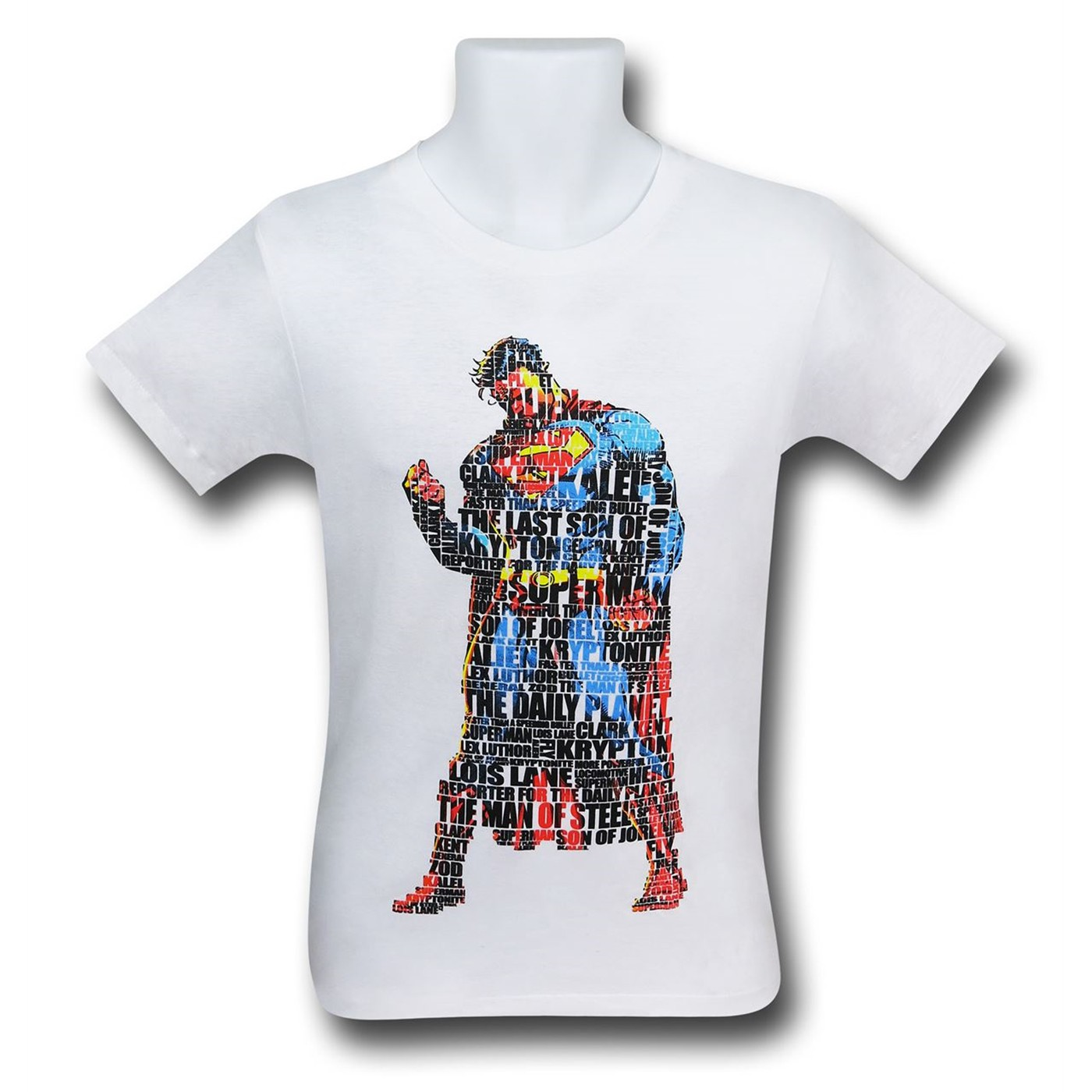 Superman Text Stance Men's T-Shirt