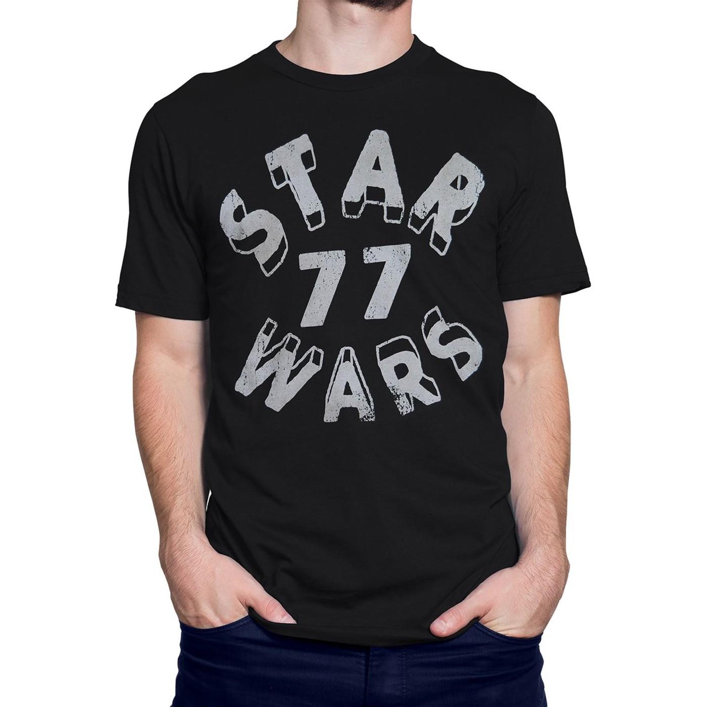 Star Wars Distressed 77 Men's T-Shirt