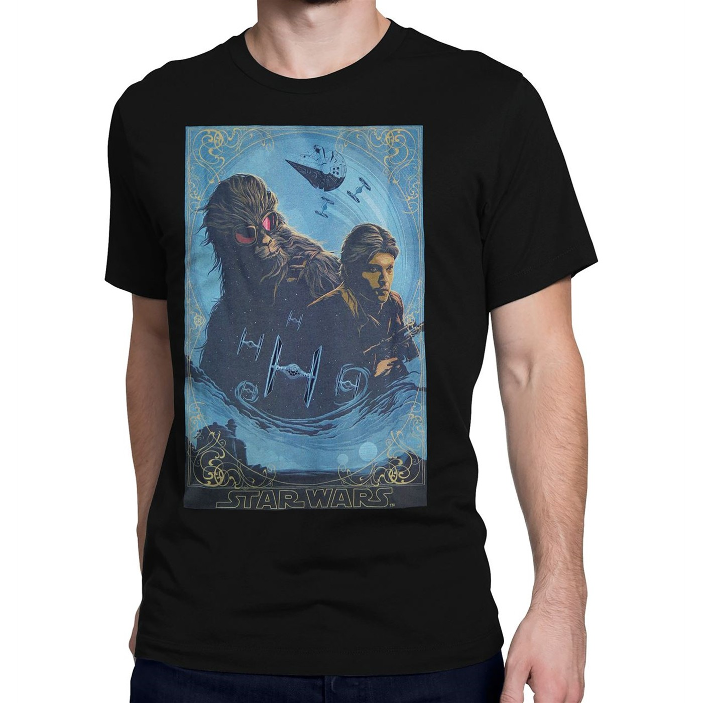 Star Wars Solo Heroes of Corellia Men's T-Shirt