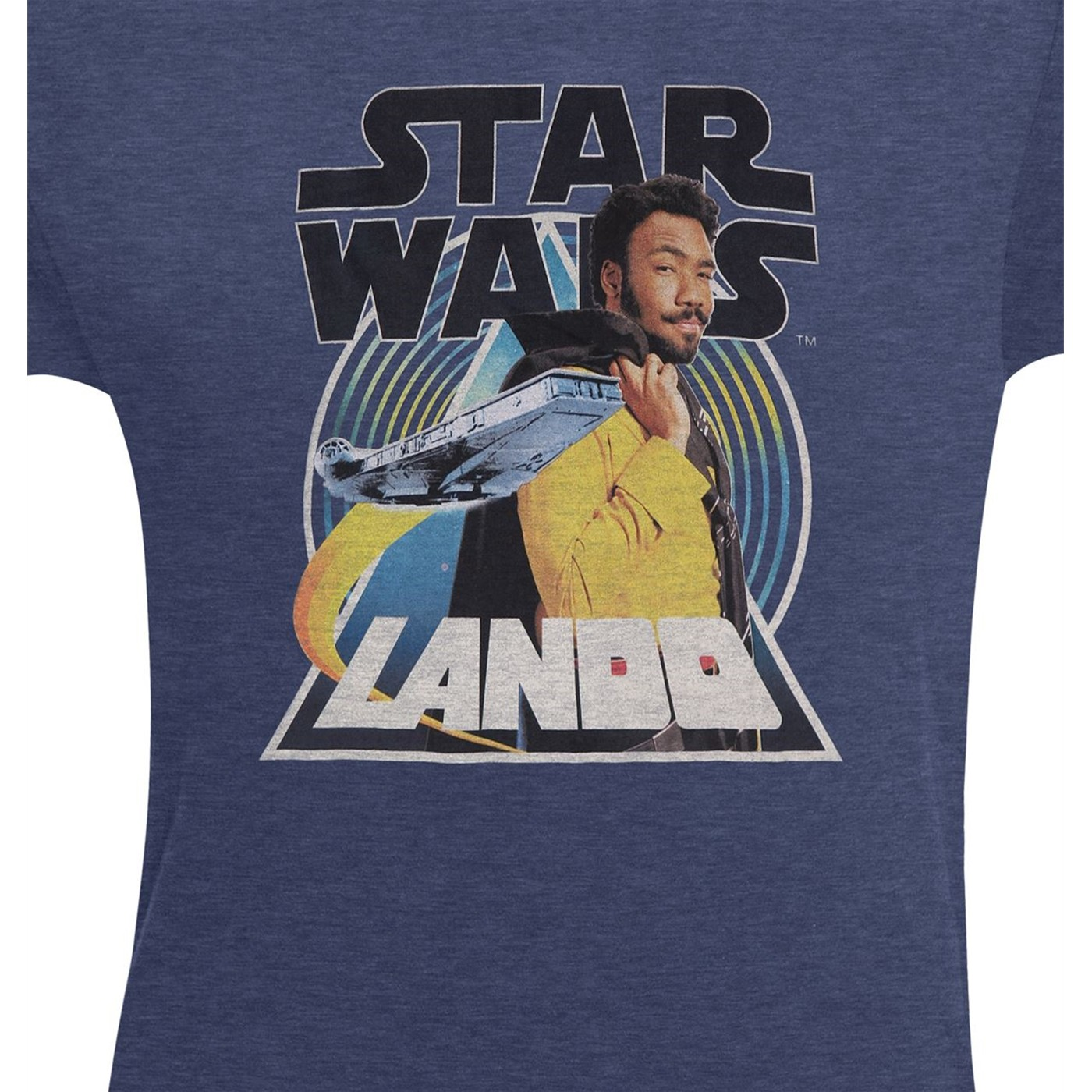 Star Wars Solo Lando Smooth Criminal Men's T-Shirt