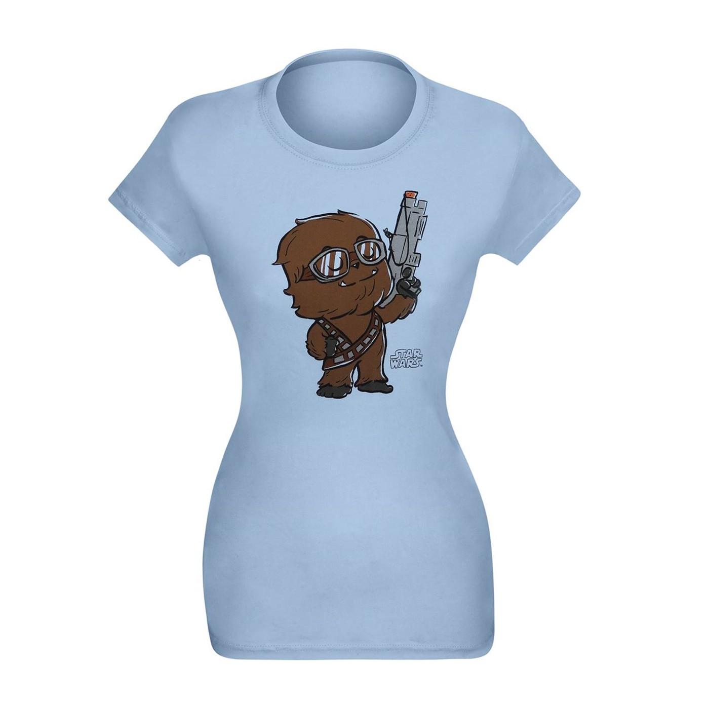 Pop Supercute Star Wars Solo Chewbacca Women's T-Shirt