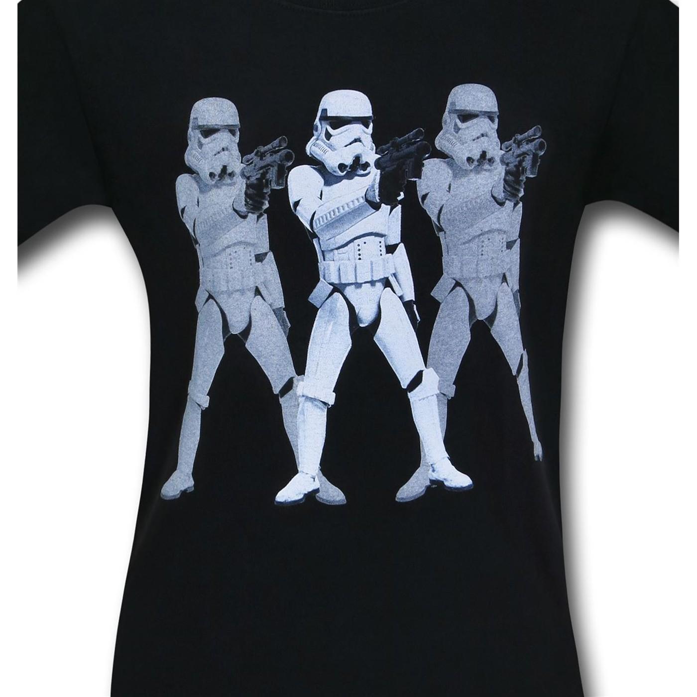 Star Wars Triple Trooper T-Shirt