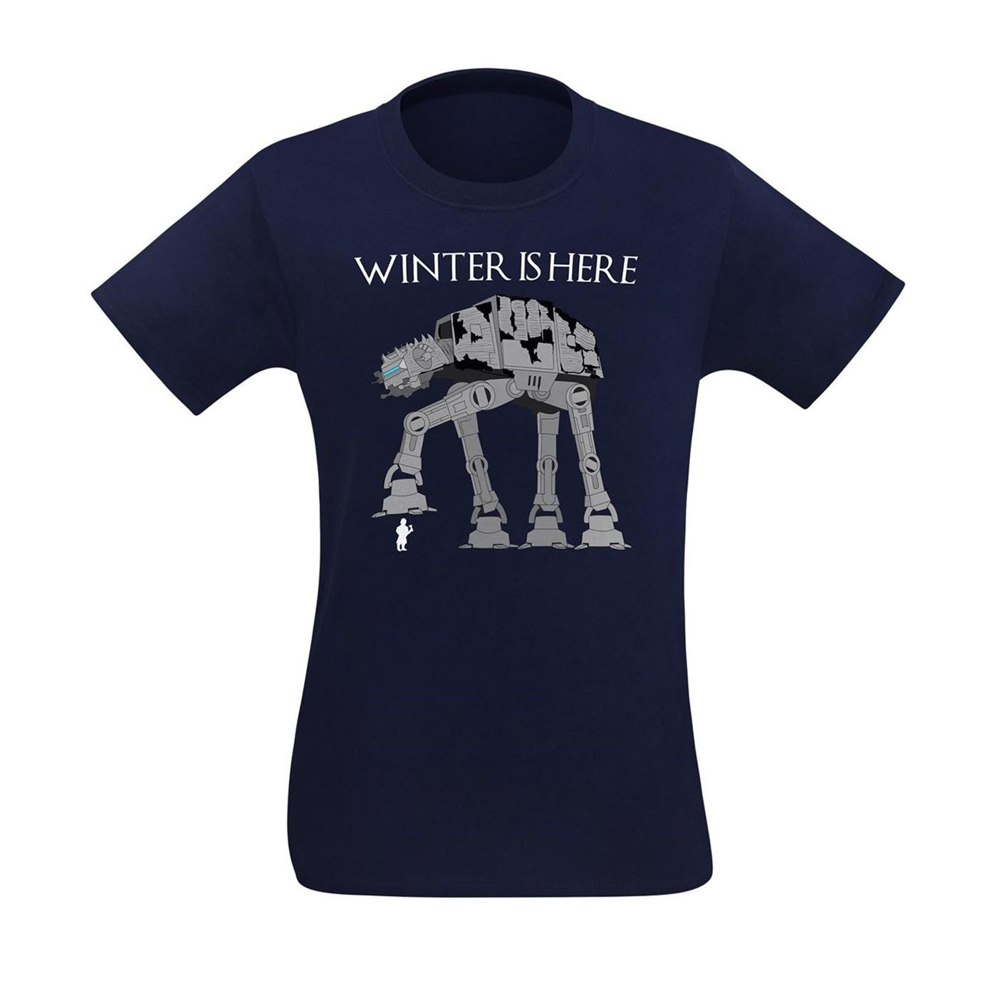 Winter Is Here Men's T-Shirt