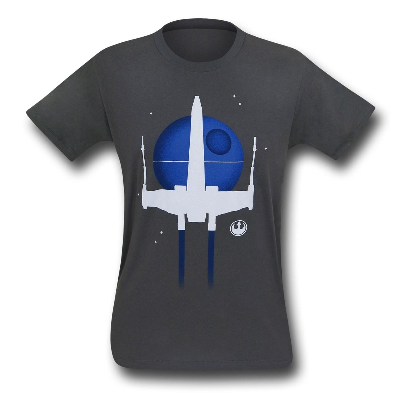 Star Wars Minimal X-Wing T-Shirt