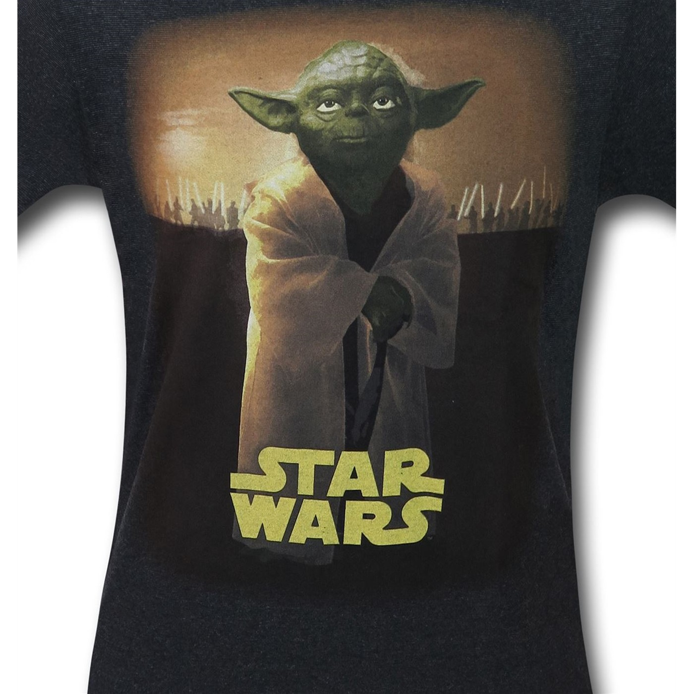 Star Wars Yoda Solemn Portrait Men's T-Shirt