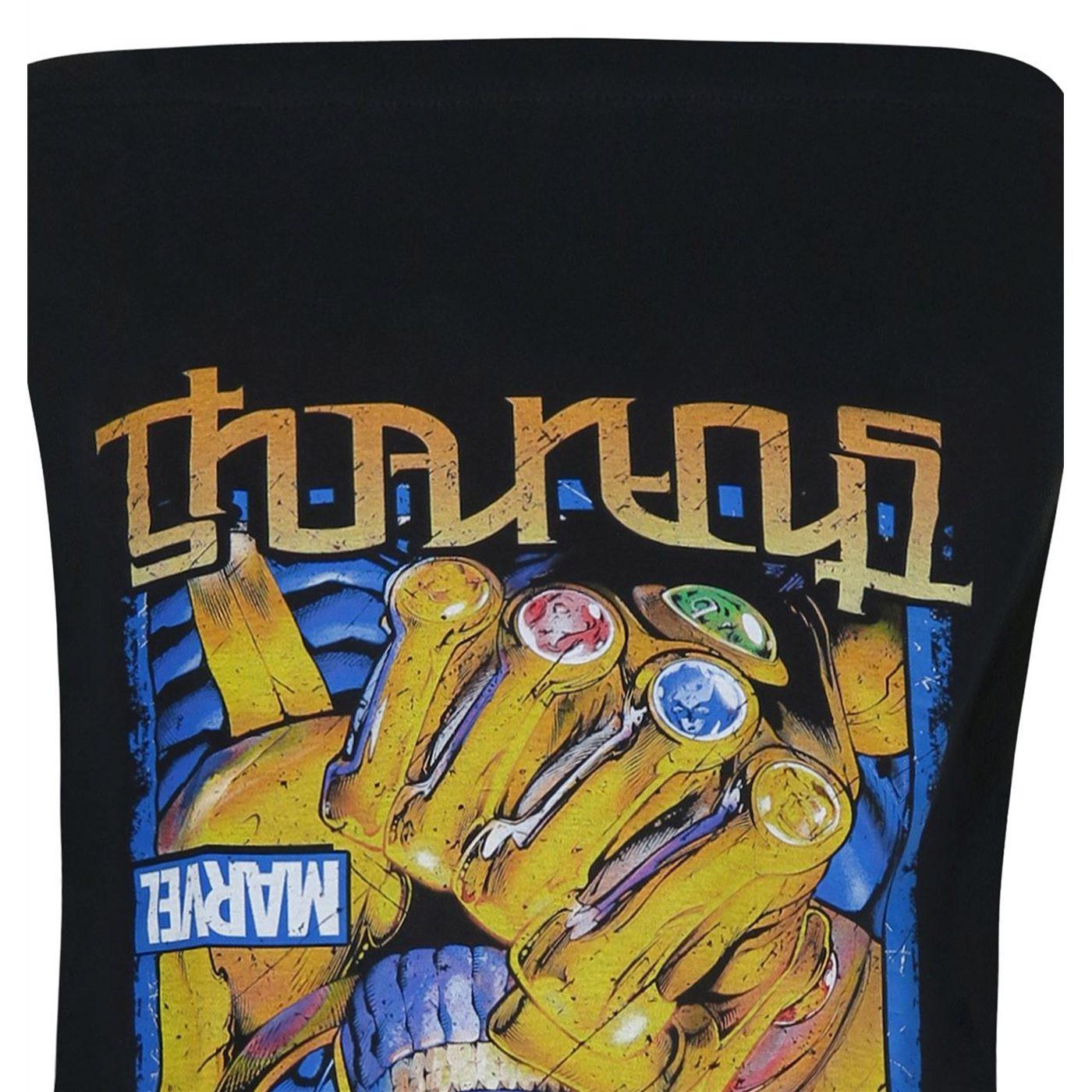 Thanos Is Supreme Ambigram Men's T-Shirt