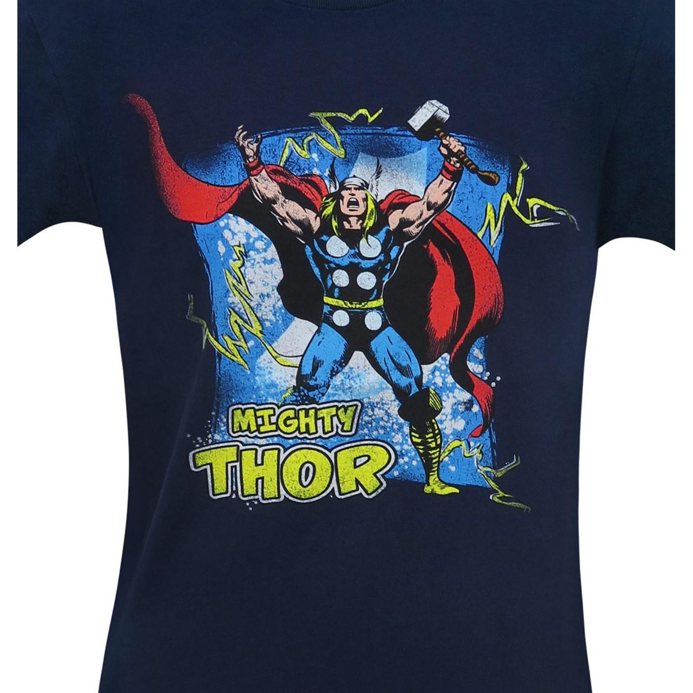 Mighty Thor by John Buscema Men's T-Shirt