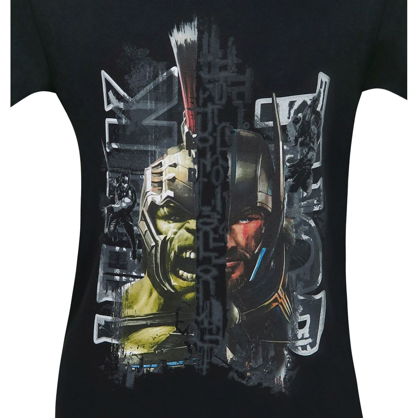 Hulk Vs Thor Ragnarok Men's T-Shirt